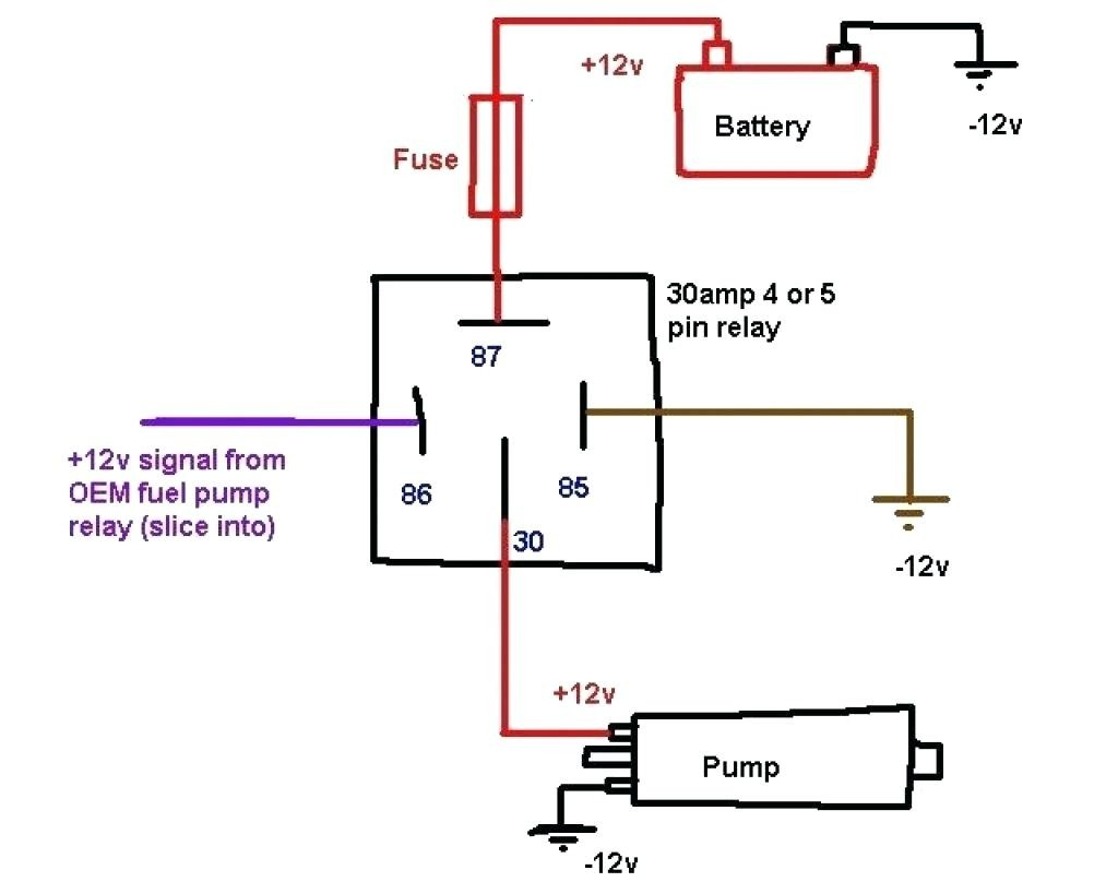 2 pole relay diagram wiring diagram