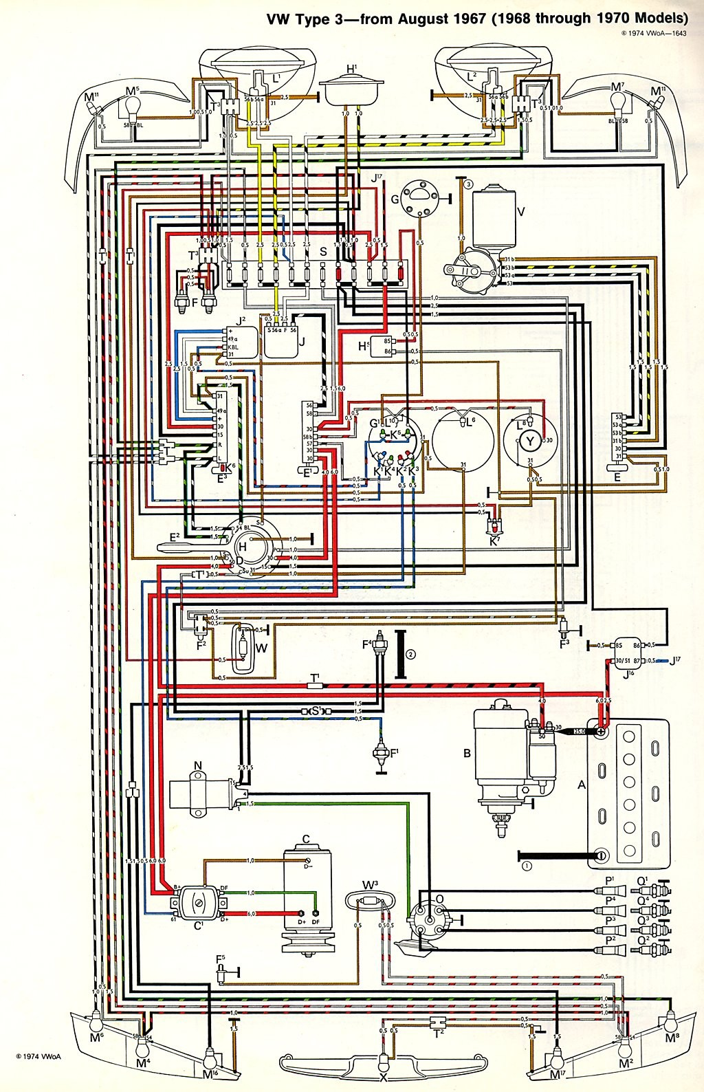 Elegant 1968 Vw Beetle Wiring Diagram Image Harness Rh Vwispwest 1972