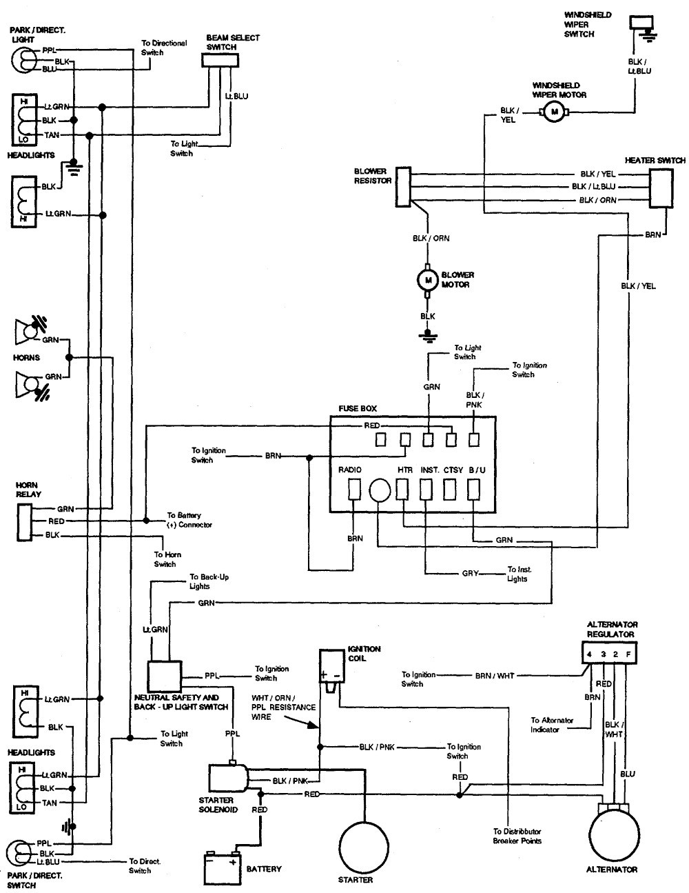 1966 283 Hei Distributor Wiring Diagram Schematic Diagrams Impala With Electrical Chevy Ballast Resistor