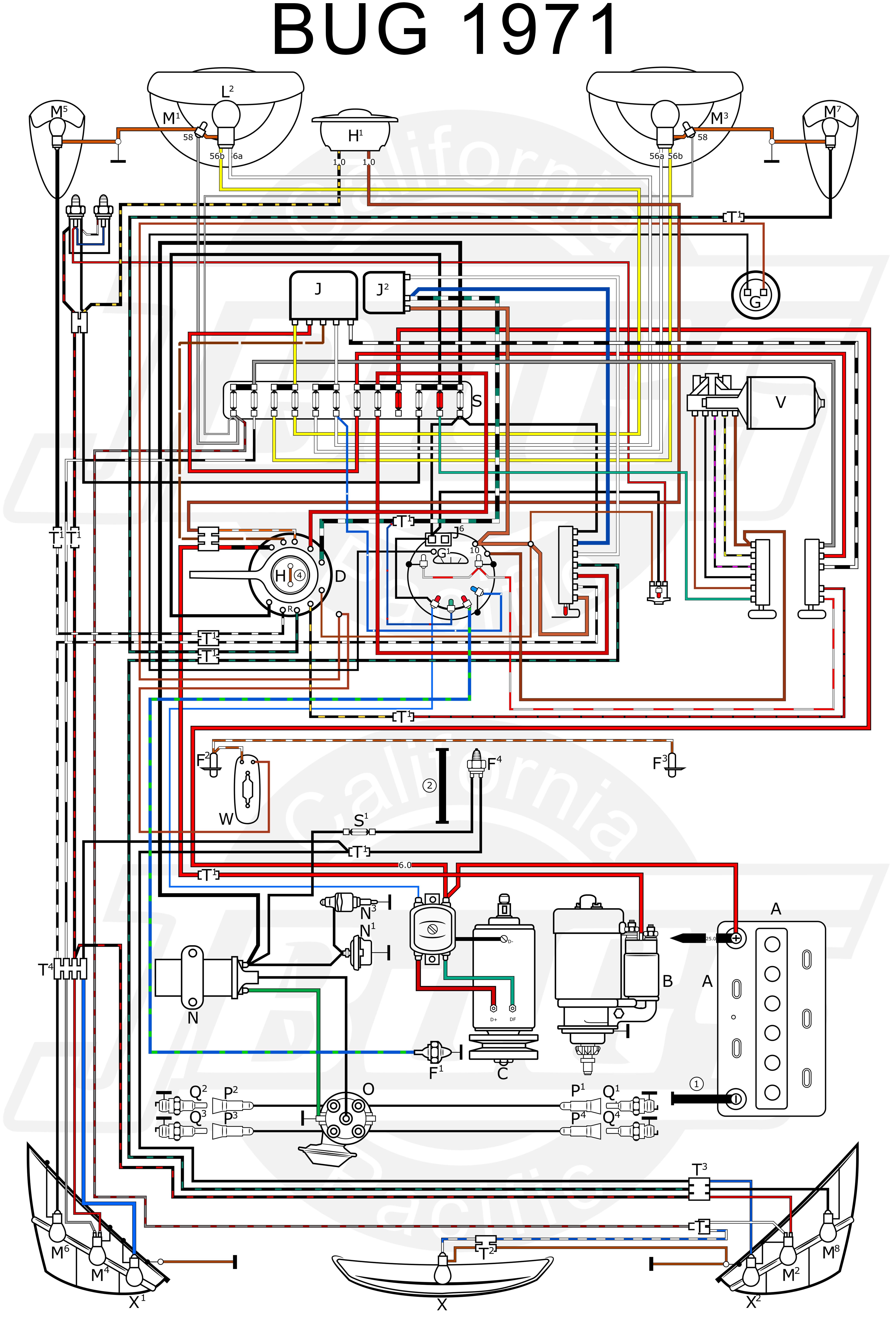 elegant 1971 vw super beetle wiring diagram wiring diagram image rh mainetreasurechest com