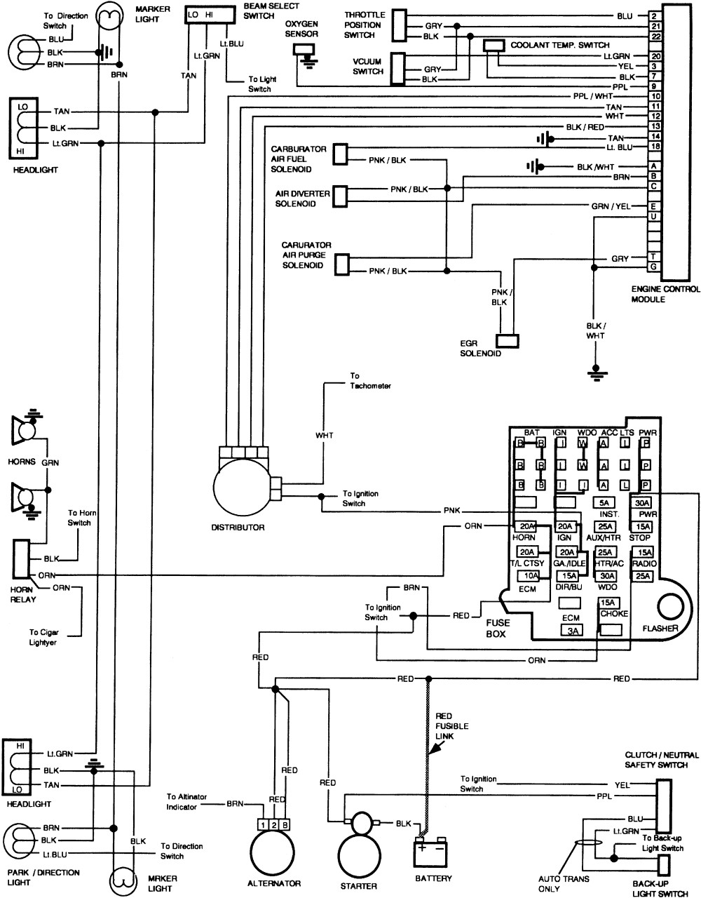 1985 chevy truck power window wiring diagram Download Gm Truck Ignition Wiring  Diagram Wiring Diagram