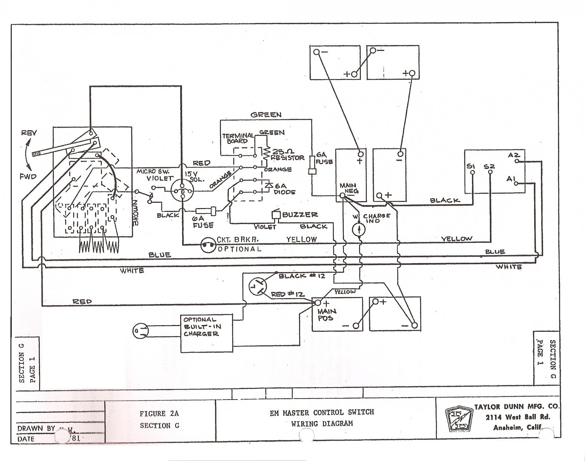 Ez Go Wiring Diagram 36 Volt – 1995 Club Car Wiring Diagram 1995 48 Volt Club