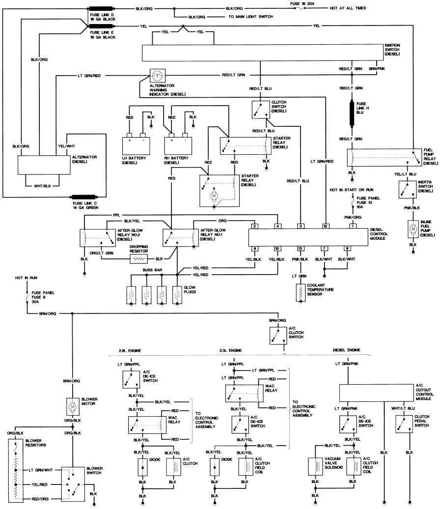 1999 Ford Mustang Engine Wiring Diagram Schematic Diagrams