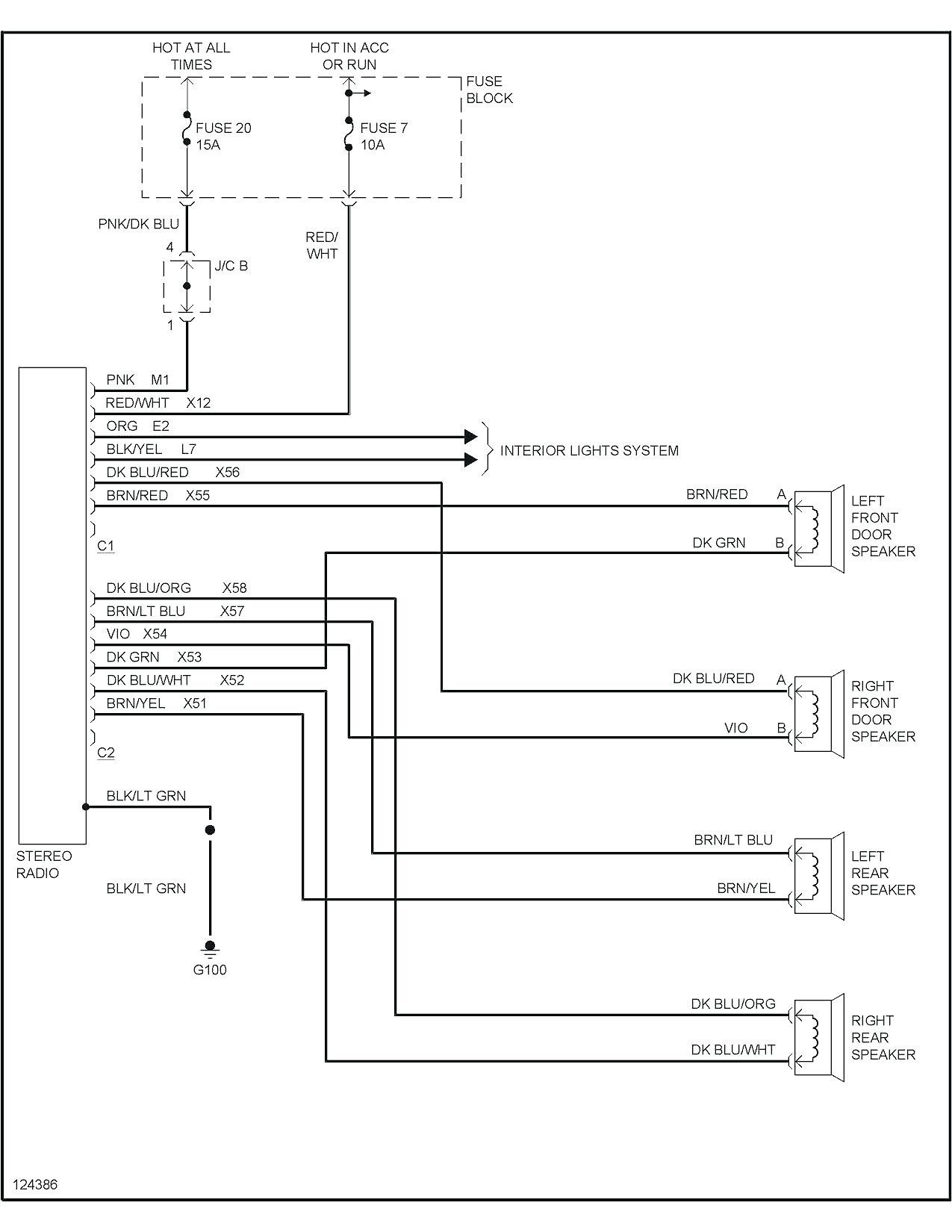 1997 Ford Expedition Stereo Wiring Diagram from mainetreasurechest.com