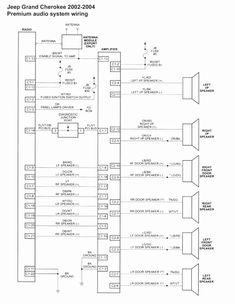 1999 Jeep Cherokee Wiring Diagram Collection