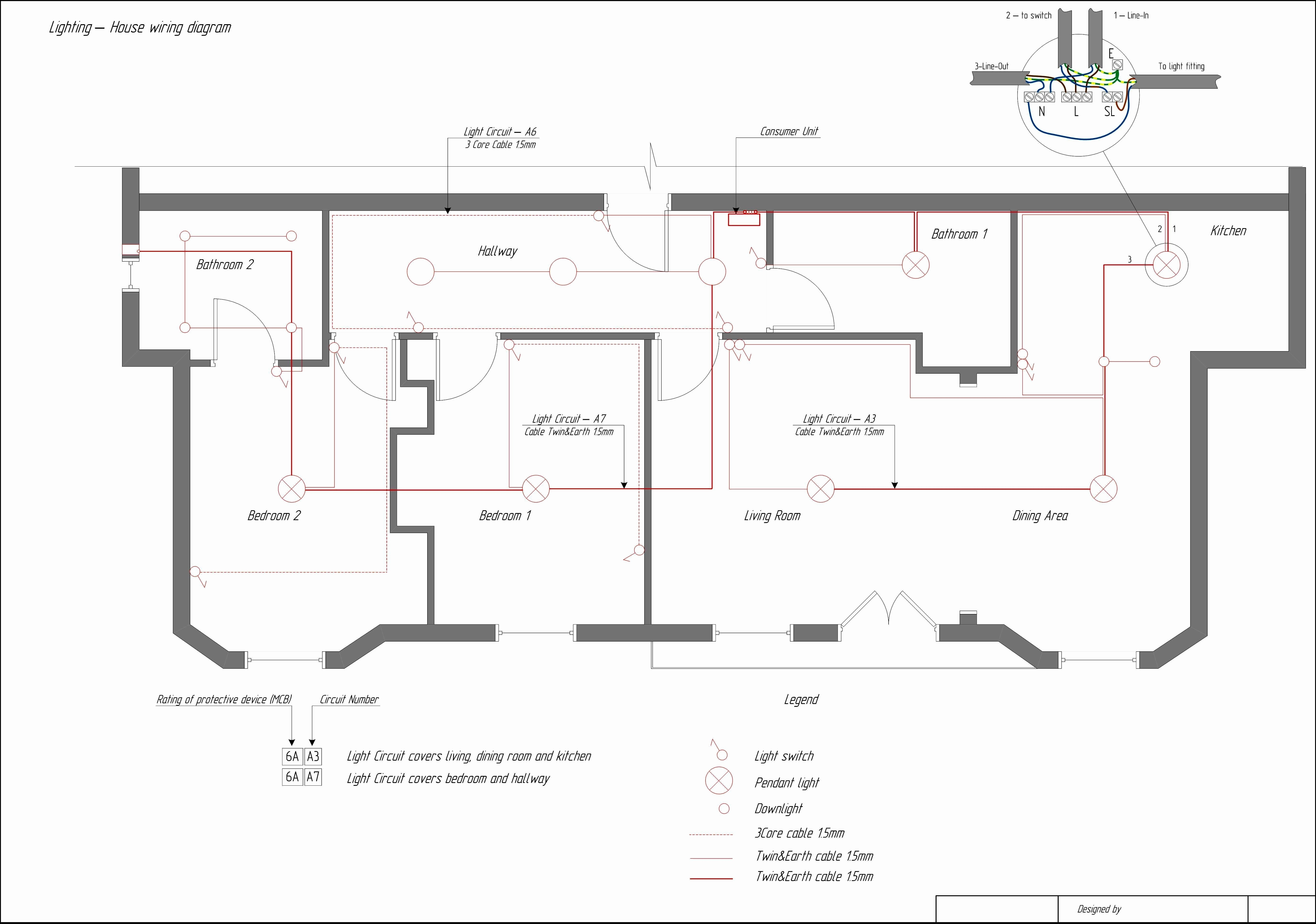 2 Circuit 3 Terminal Lamp socket Wiring Diagram Lovely New How to Wire Multiple Light Switches