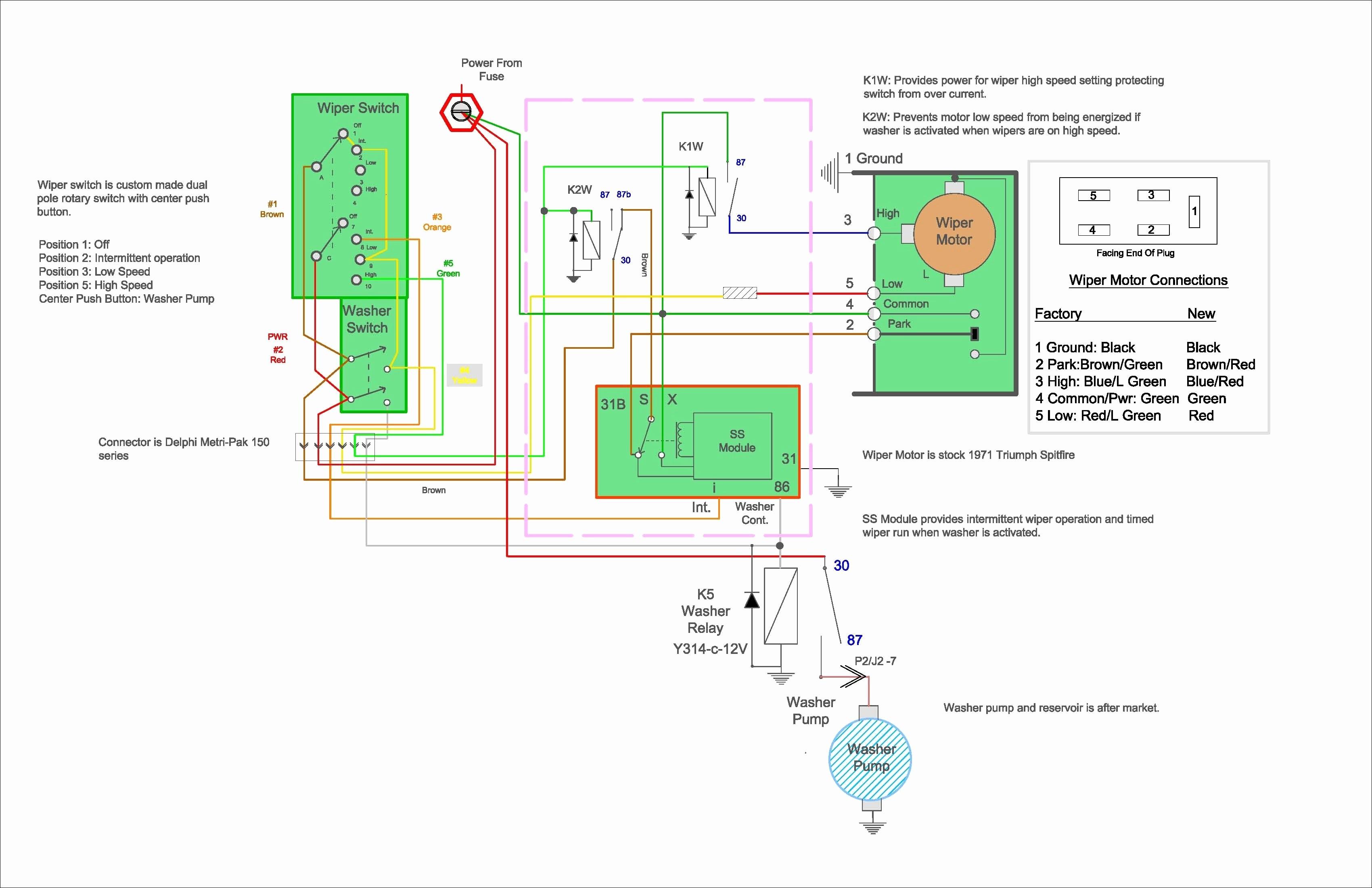 2 Circuit 3 Terminal Lamp socket Wiring Diagram Beautiful Triumph Spitfire Rebuild