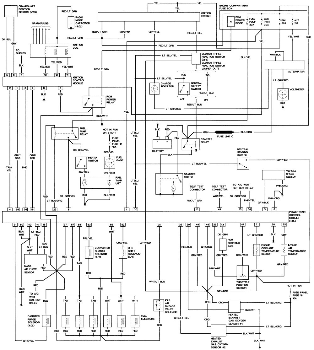 2000 Ford Ranger Relay Diagram Trusted Wiring F250 Schematic Sanelijomiddle Diagrams Interior