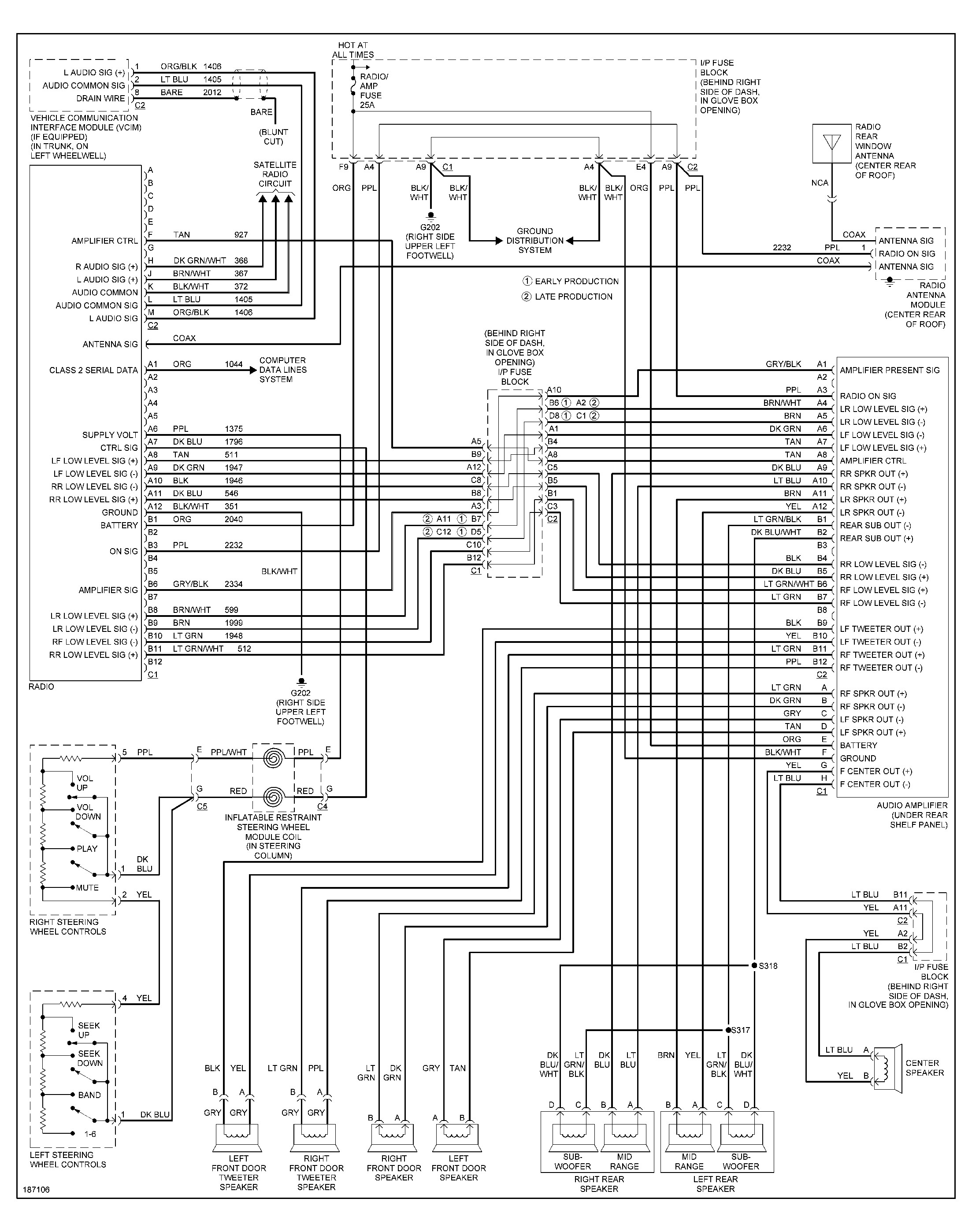 Wiring Diagram For 2002 Pontiac Grand Prix Radio