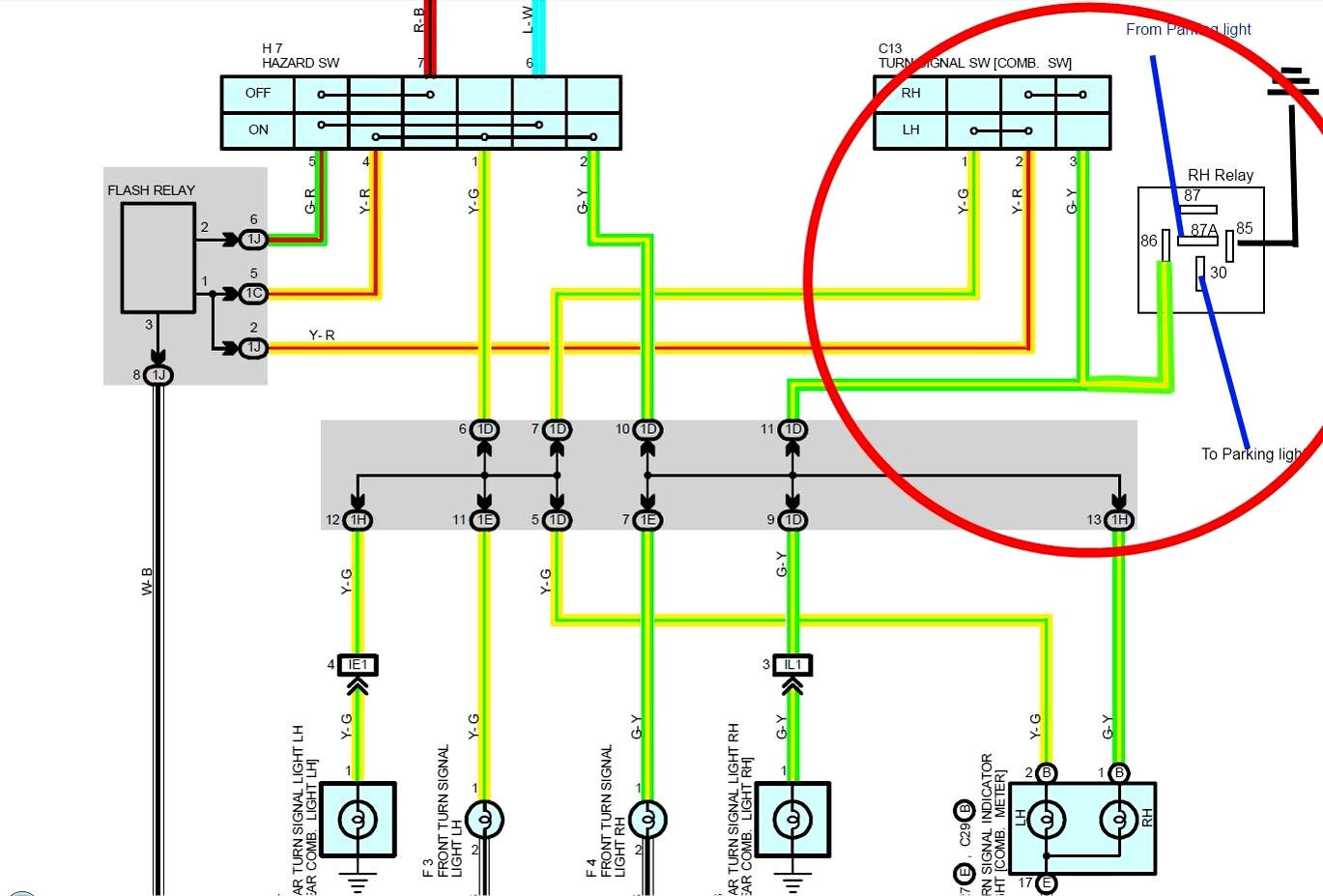 Nissan Radio Wiring Harness Diagram from mainetreasurechest.com