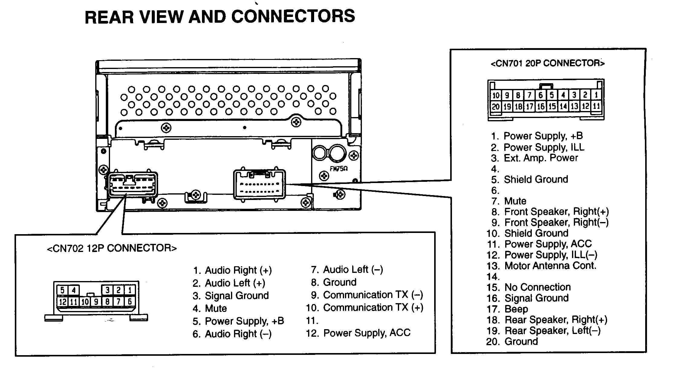 Toyota Ta a Stereo Wiring Diagram at toyota Stereo Wiring Diagram Intended  for