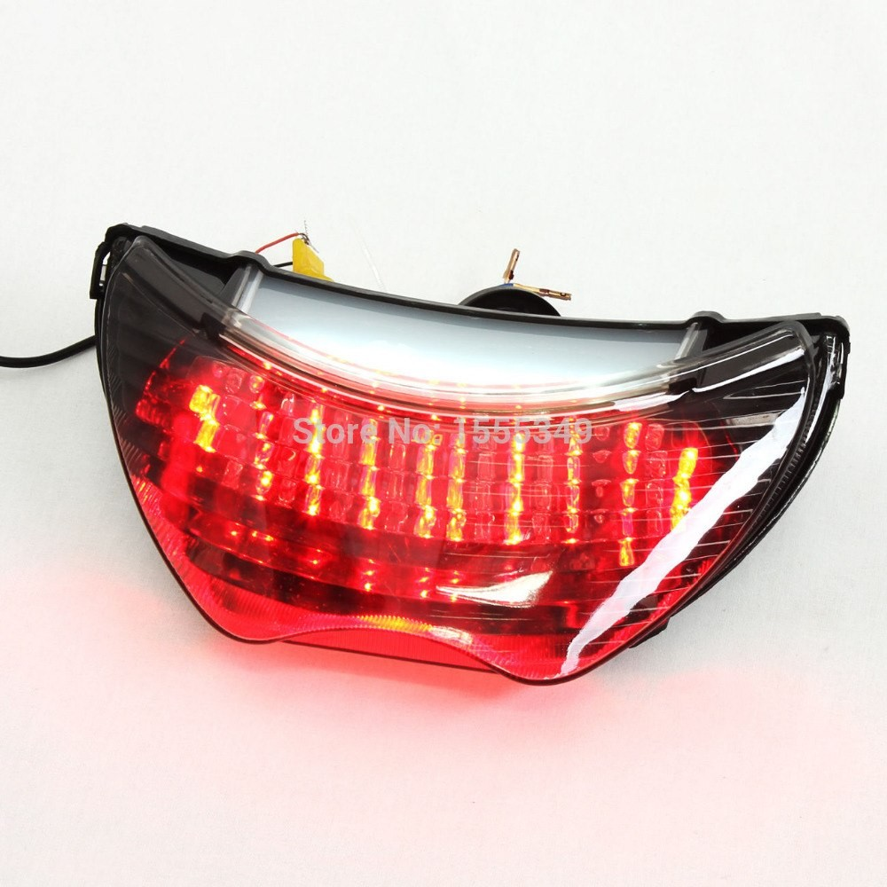 For Honda CBR 600 F4 F4i LED Motorcycle TailLights Brake Tail Lights with  Integrated Turn Signals