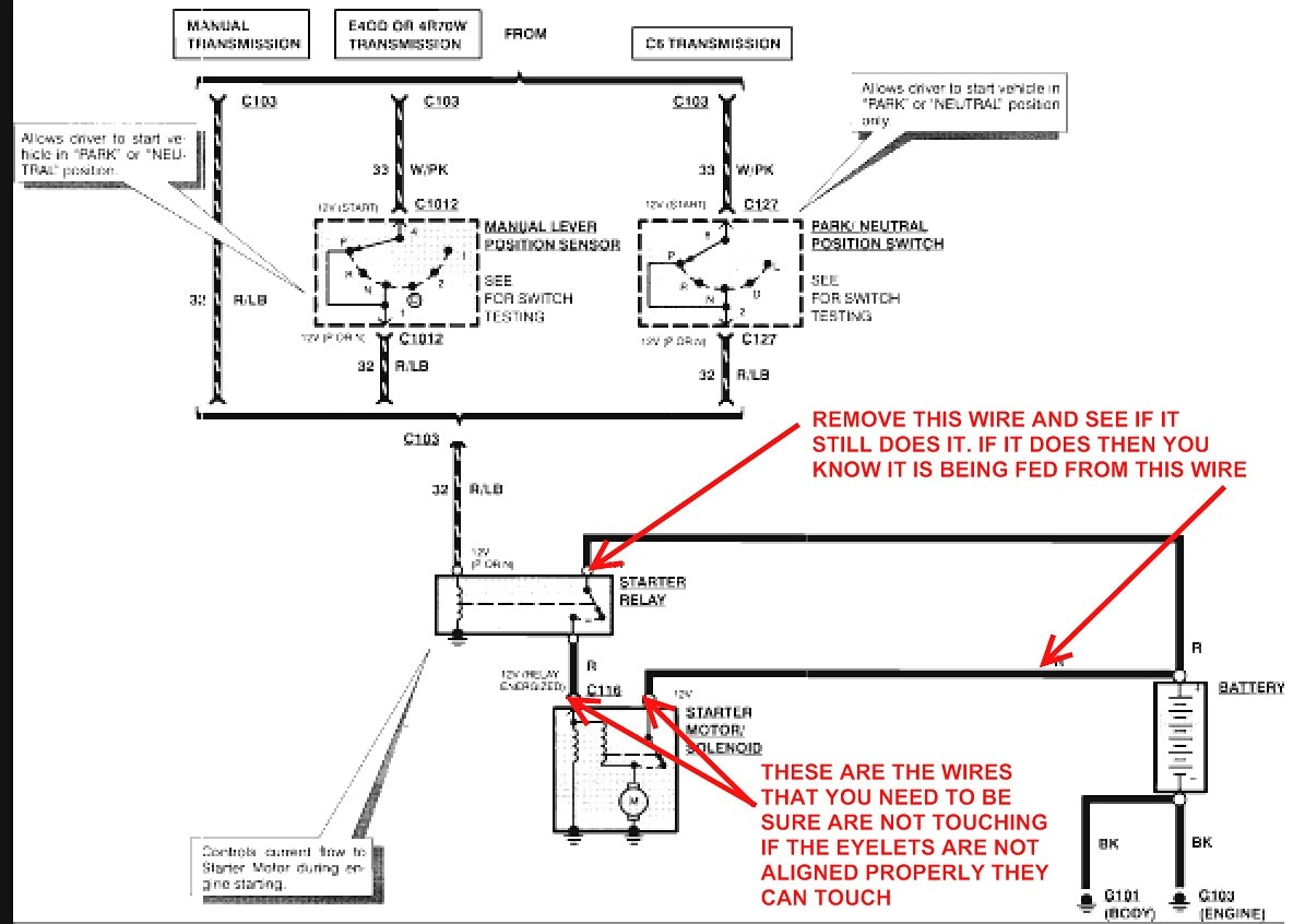 3 Wire Ford Solenoid Wiring Diy Enthusiasts Wiring Diagrams \u2022 ATV  Winch Switch Wiring A Three To Four Wires Wiring On Dc Motor Wiring Diagram  3 Wire