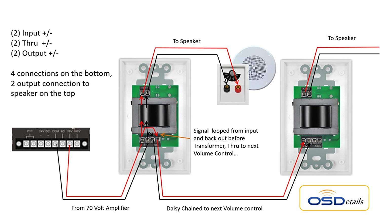 70v speaker wiring diagram improve wiring diagram u2022 rh therichcompany co 70 volt wiring diagram speakers 70 volt speaker wiring diagram