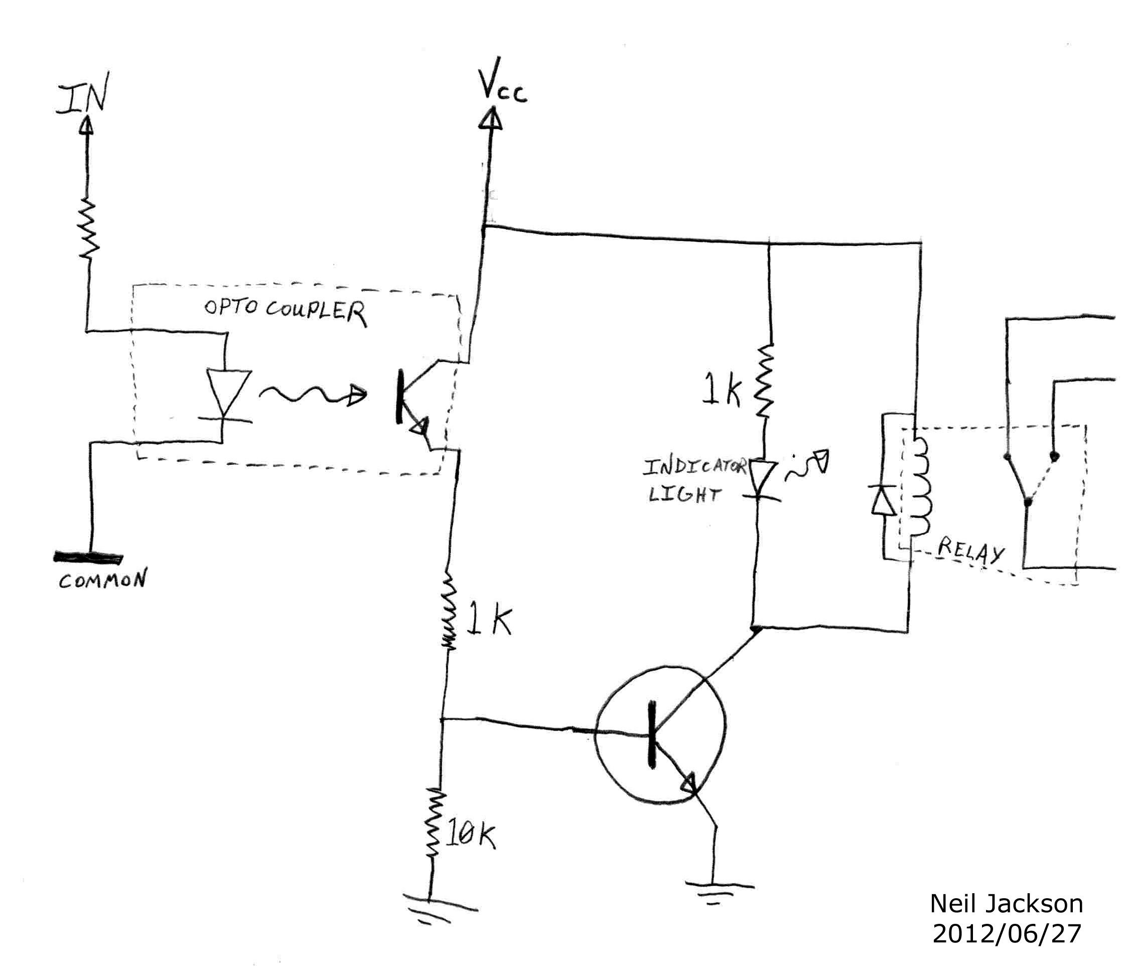 8 Channel Relay Board Circuit Diagram Wiring Image Unique Logic New Ponent Schematic