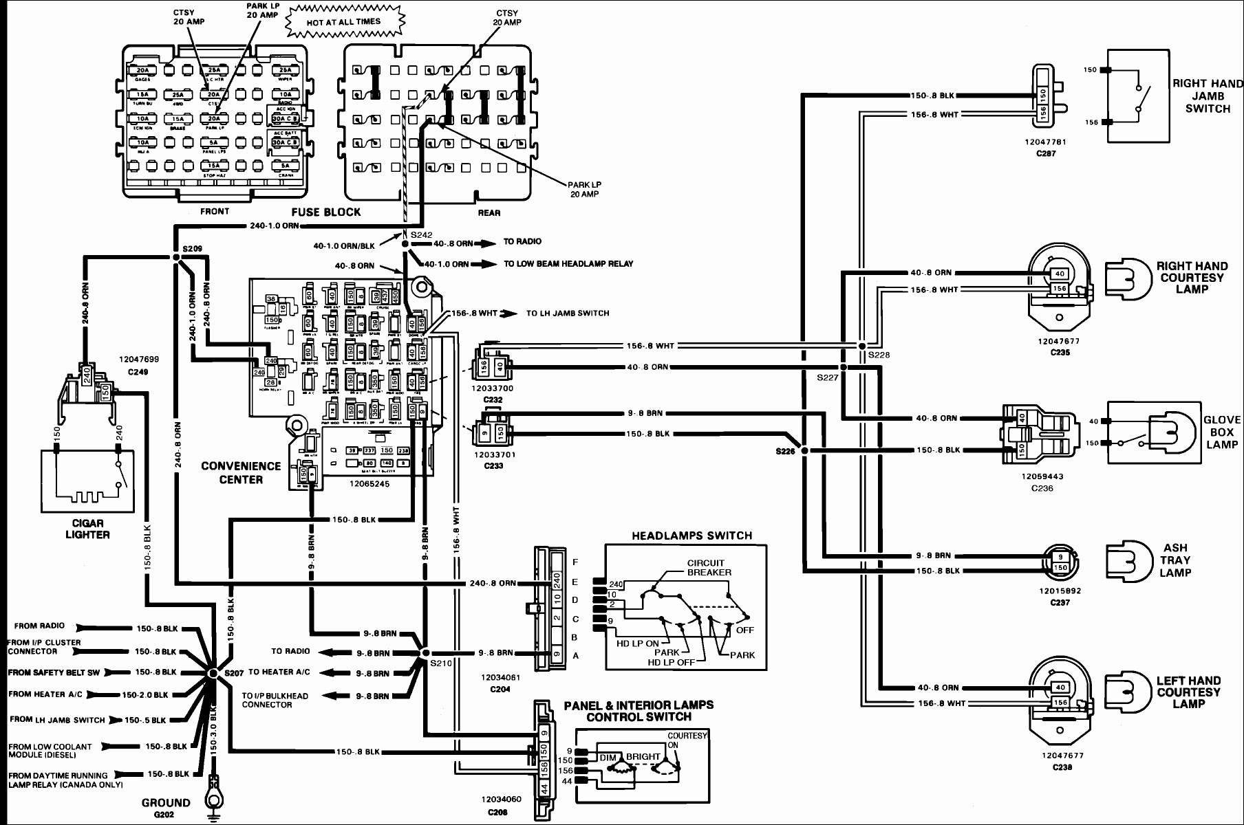 1994 chevy alternator wiring diagram