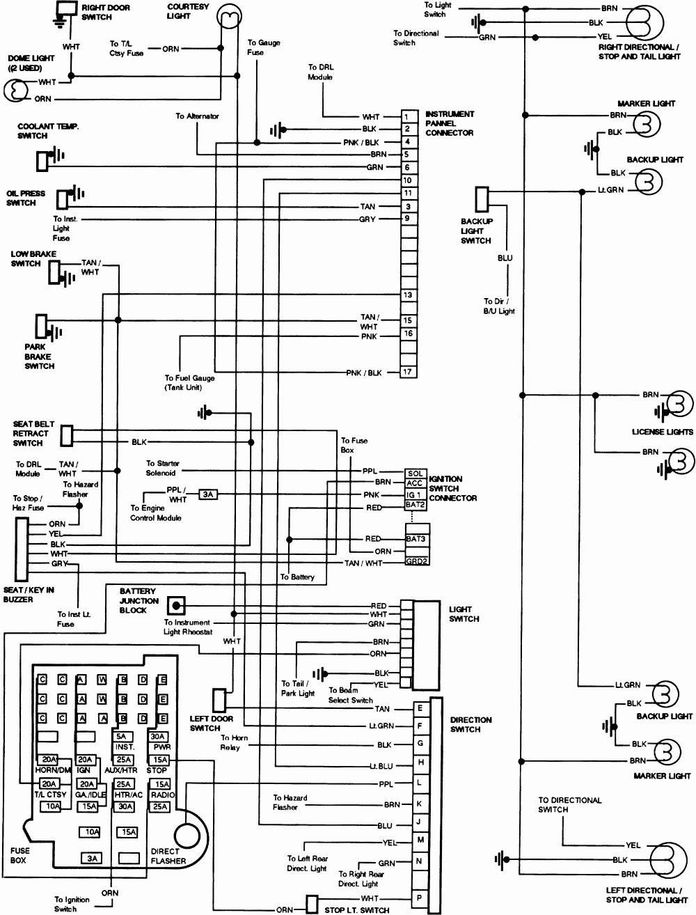 Gmc Truck Wiring Diagrams Switch Diagram 1970 Mercedes Benz Fuse Box 86 U2022 Rh Friendsoffido Co 1951 Free