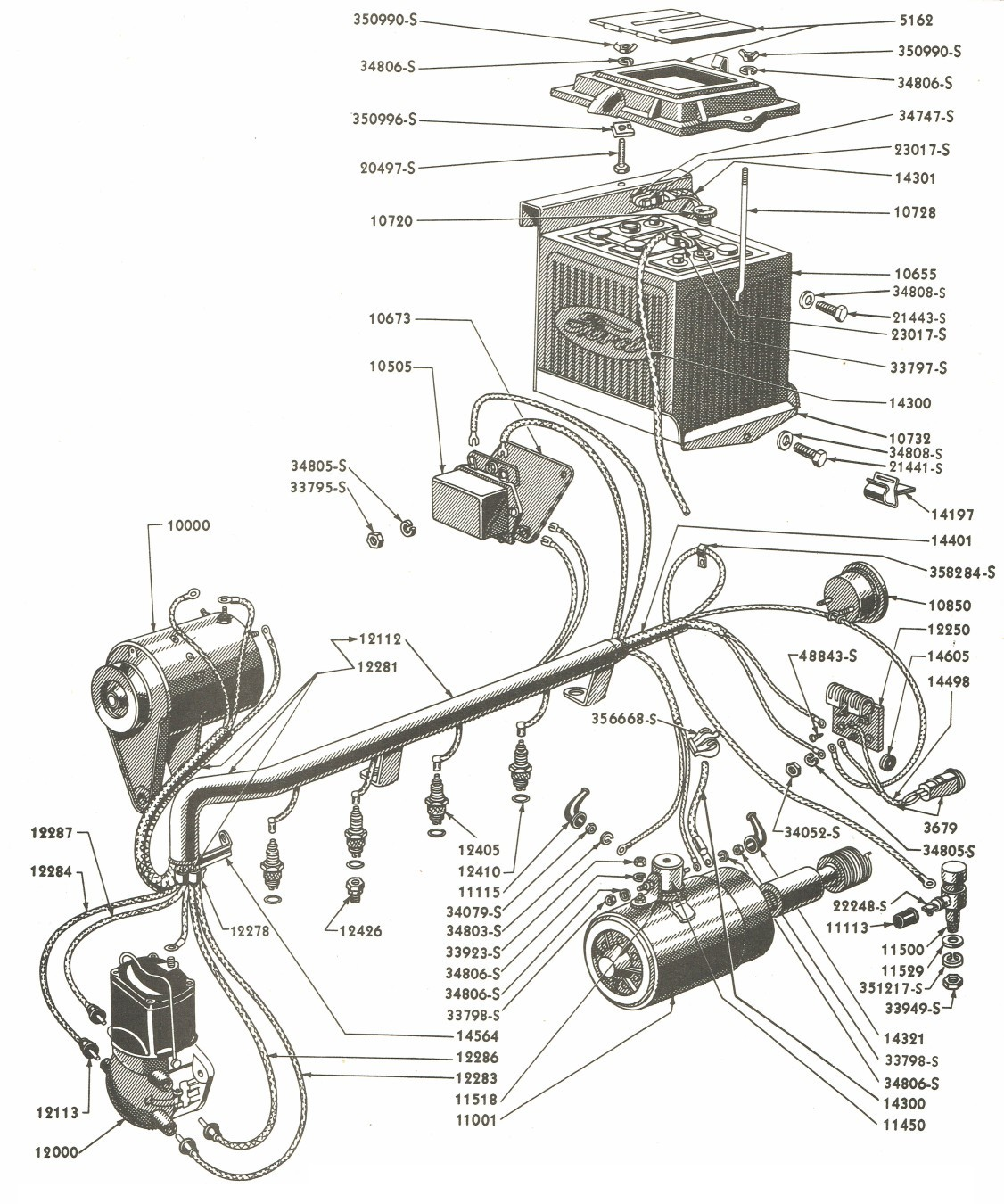ford 8n 6 volt wiring wiring diagrams