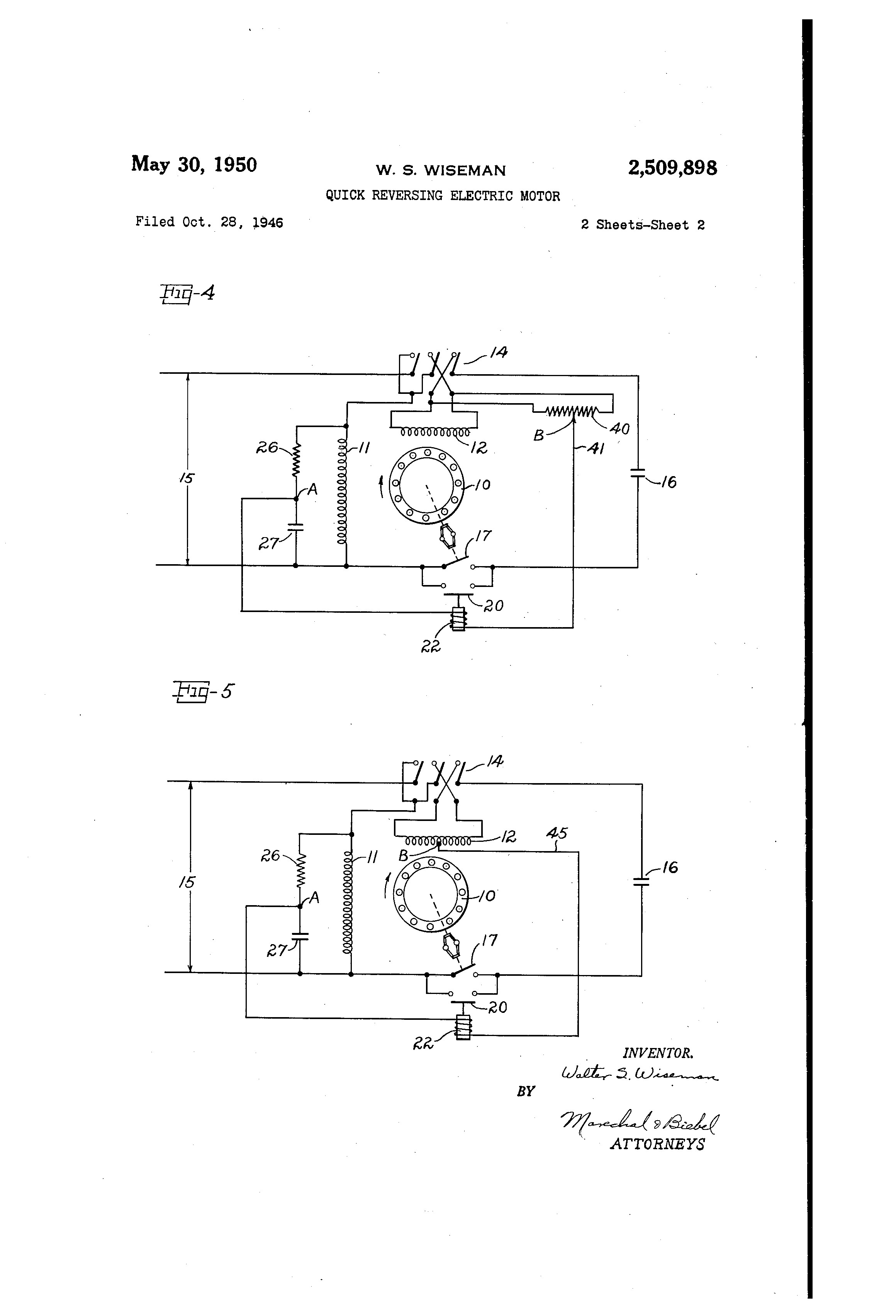 Wagner Electric Motor Wiring Diagram Wiring Diagram for Single Phase Motor  Luxury Patent Us Single