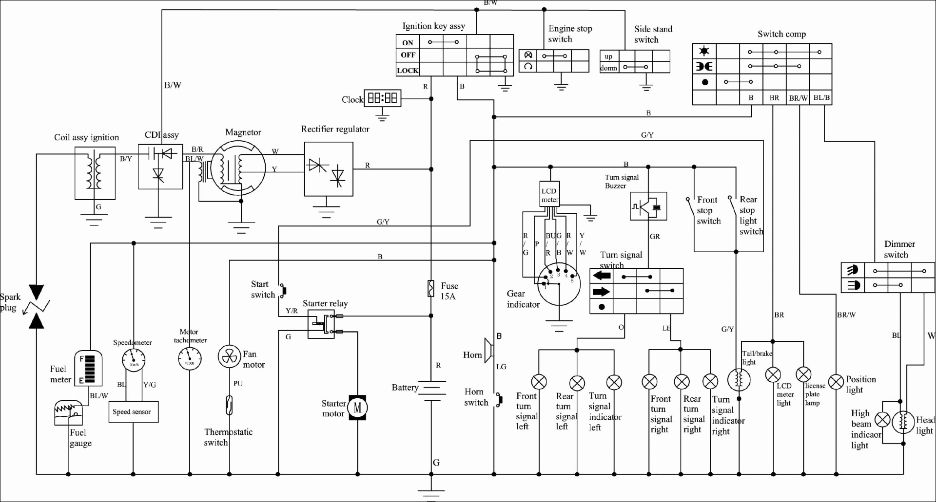 ... Bbbind.com Wiring Diagram | Wiring Diagram Image on bajaj chetak wiring  diagram, honda ...