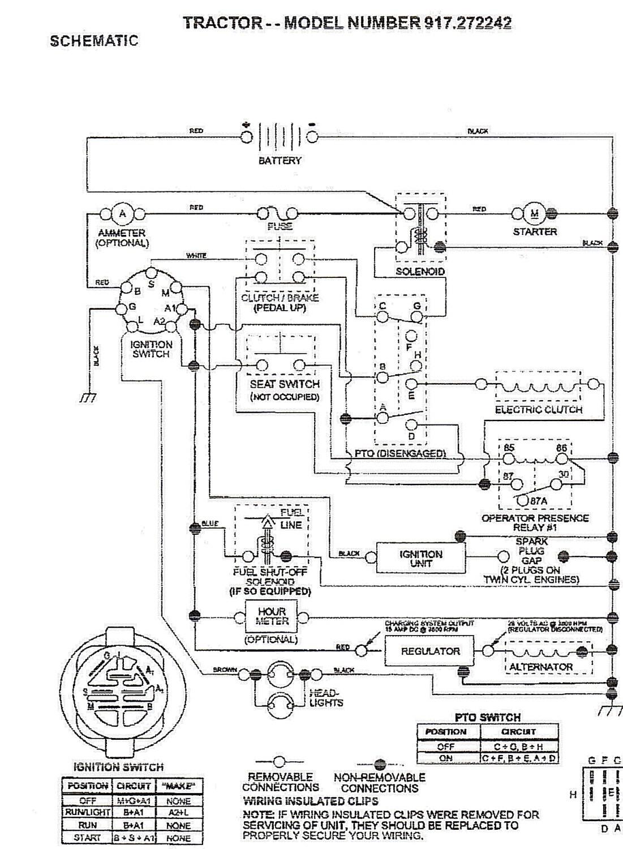briggs and stratton voltage regulator wiring diagram Collection Craftsman Dyt 4000 Wiring Diagram Autoctono Me