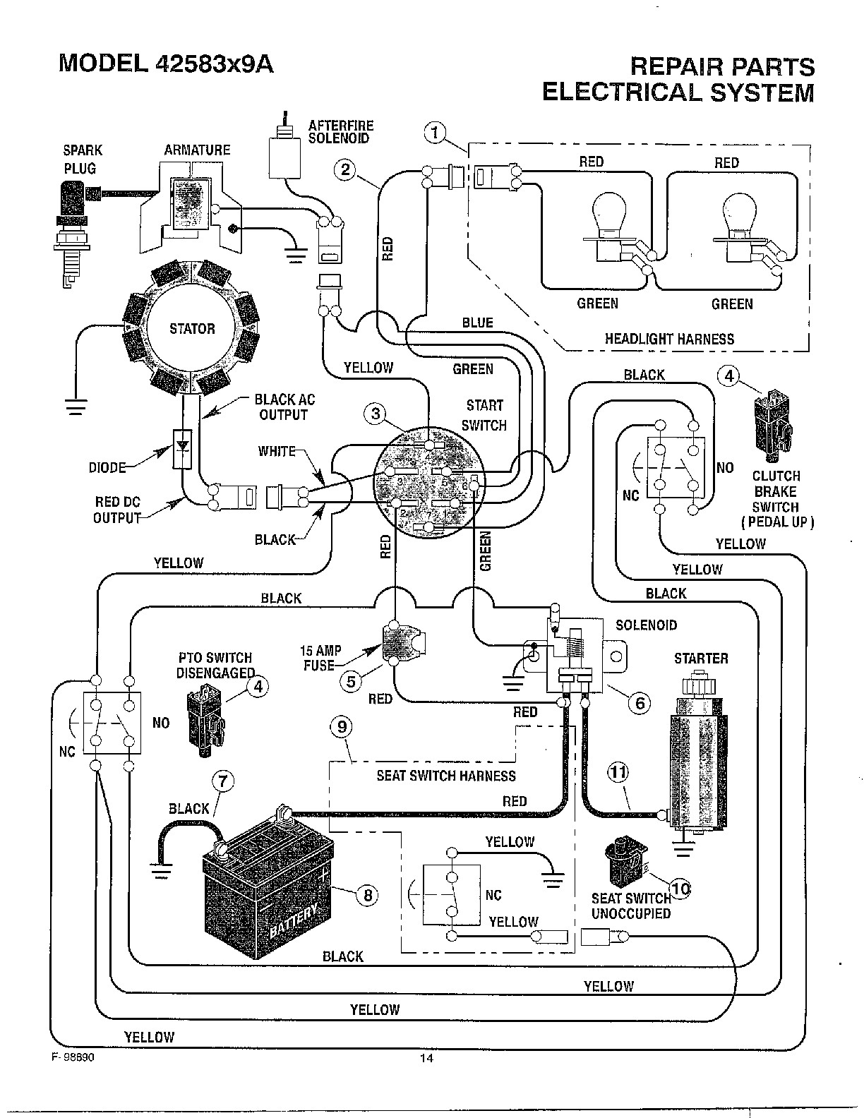 briggs and stratton magneto wiring diagram awesome