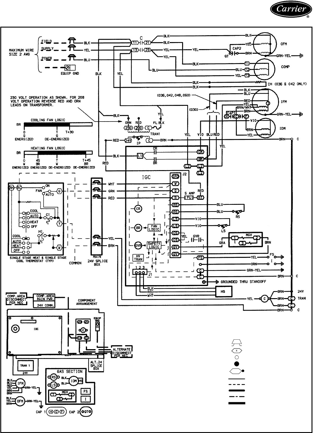 Carrier Infinity 98 Furnace Installation Manual User Guide Manual Tempstar Gas  Furnace Wiring Diagram Carrier 58sta Gas Furnace Wiring Diagram