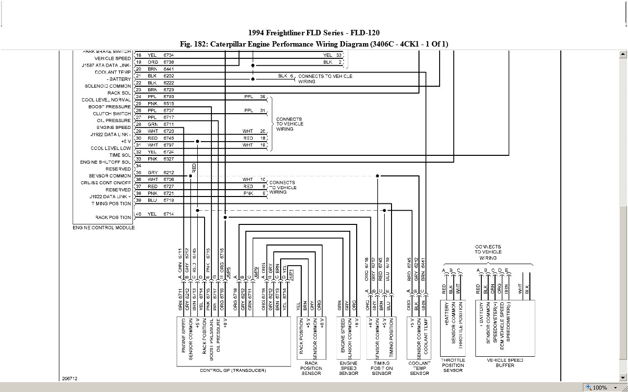 Freightliner Cat Need Wiring Diagram The Prong Graphic Freightliner Bus Engine Diagram Full
