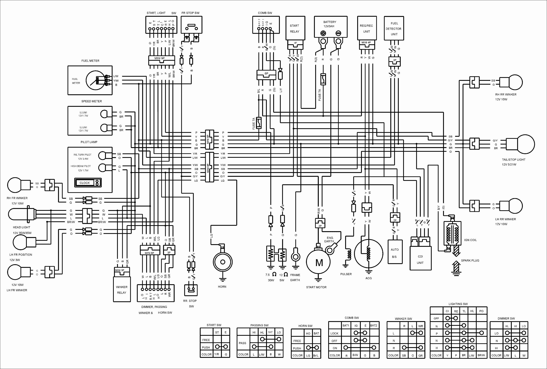 Cdi Wiring Diagram Elegant Kymco Agility 50 Wiring Diagram Ignition In