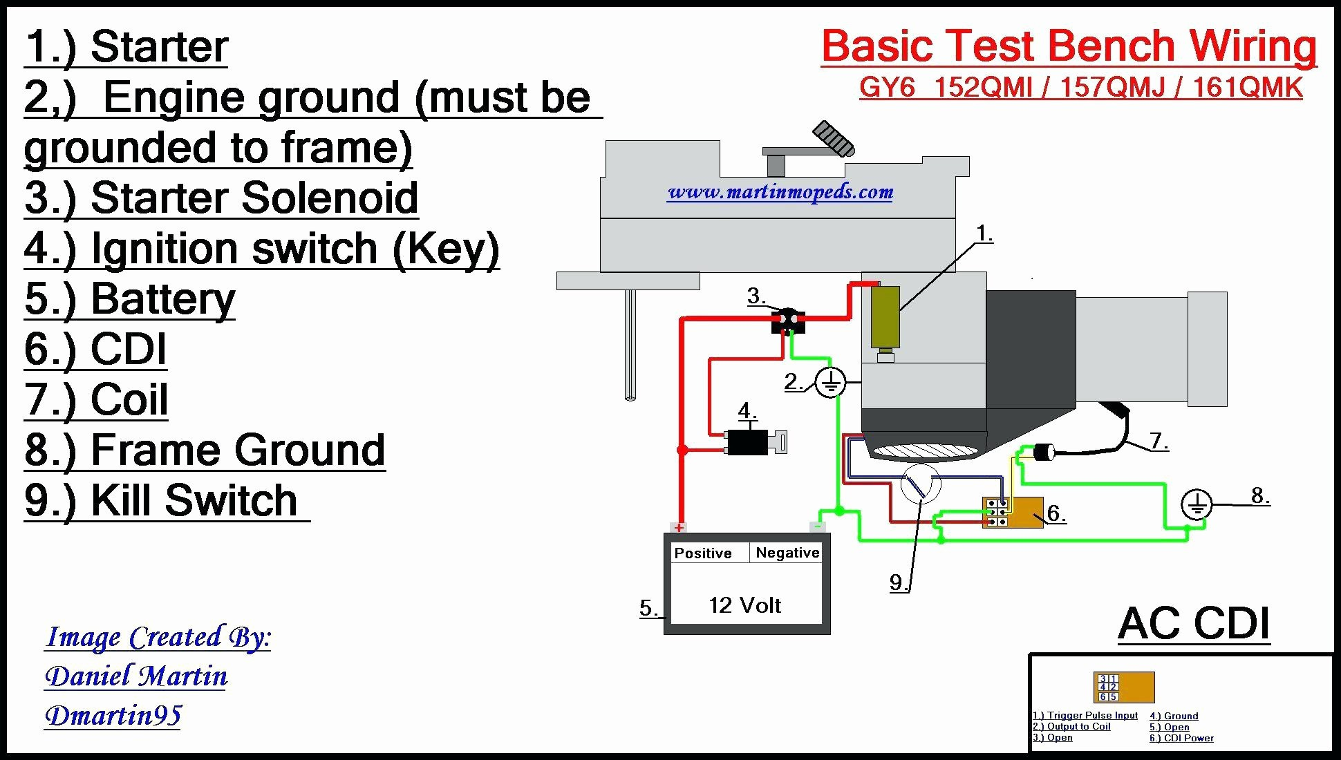 Wiring Diagram for 6 Pin Relay New 5 Pin Cdi Box Wiring Diagram New Cdi Wiring