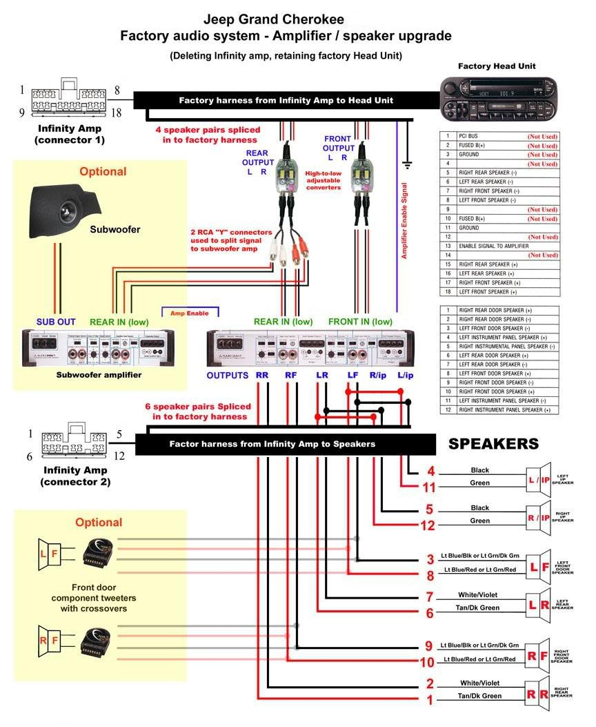 Chrysler Infinity Speaker Wiring Diagram Well Detailed Split Schematic Amp Diagrams U2022 Rh Offlinebrowser Co Dodge Radio