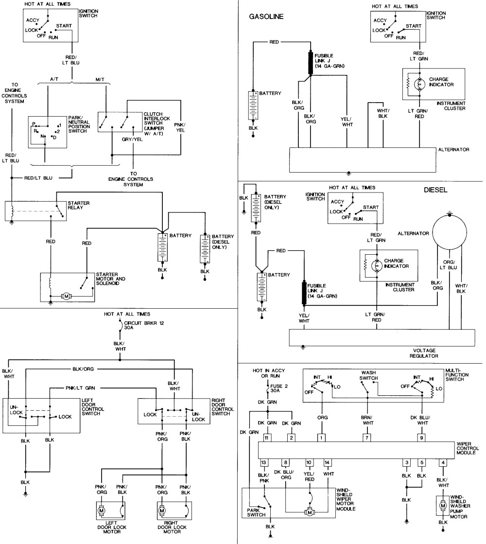 WRG-6981] 2002 Chrysler Town And Country Wiring Diagram on