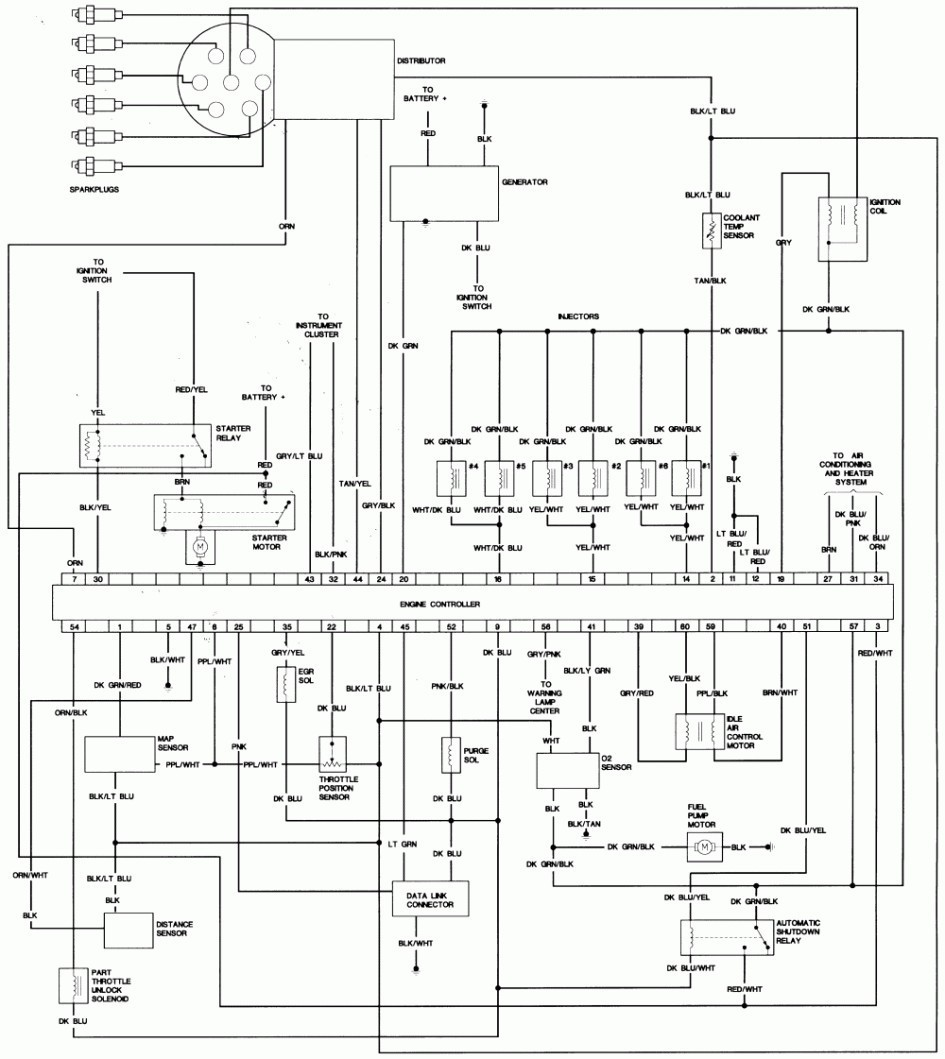 Wiring Diagram Chrysler Voyager 2004