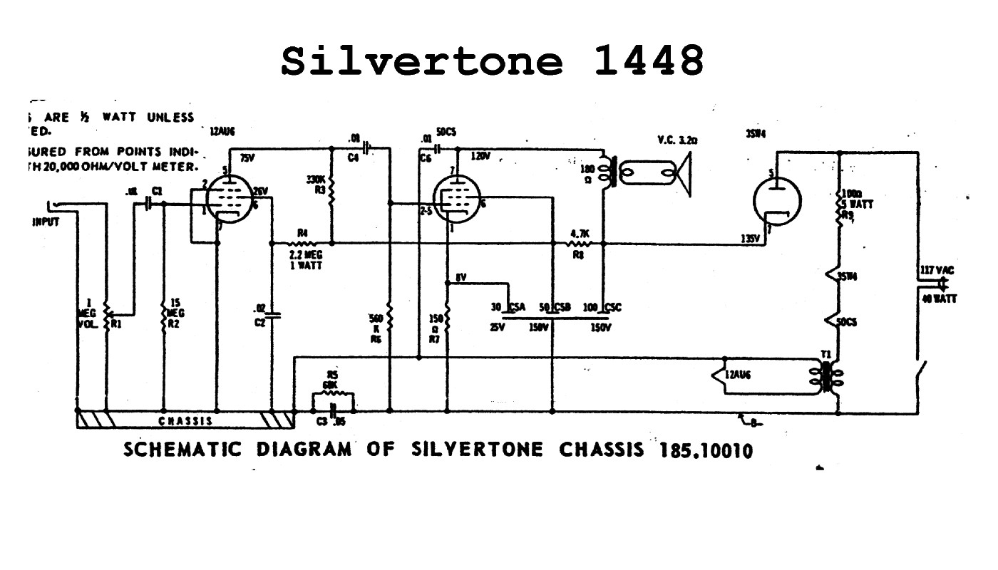 Best Diy Guitar Amplifier Kit Design Ideas Amp Wiring Diagram Sears Silvertone Schematics All Kind Of Rh Wiringdiagramweb Today And Roebuck Guitars Silver Tone