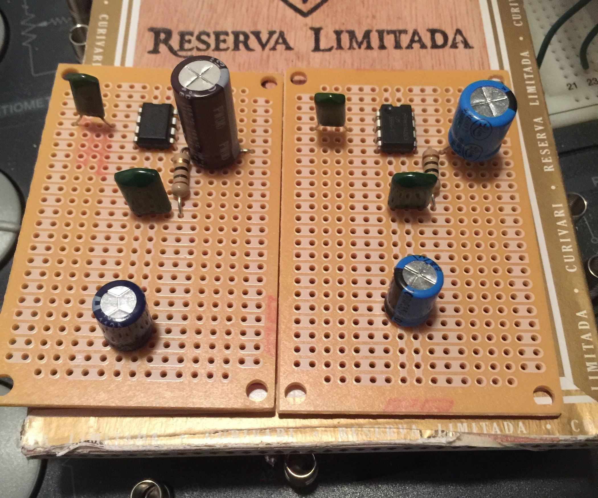 Basic LM386 Guitar Amplifier Easy Step By Step Instructions Cigar Box Amp