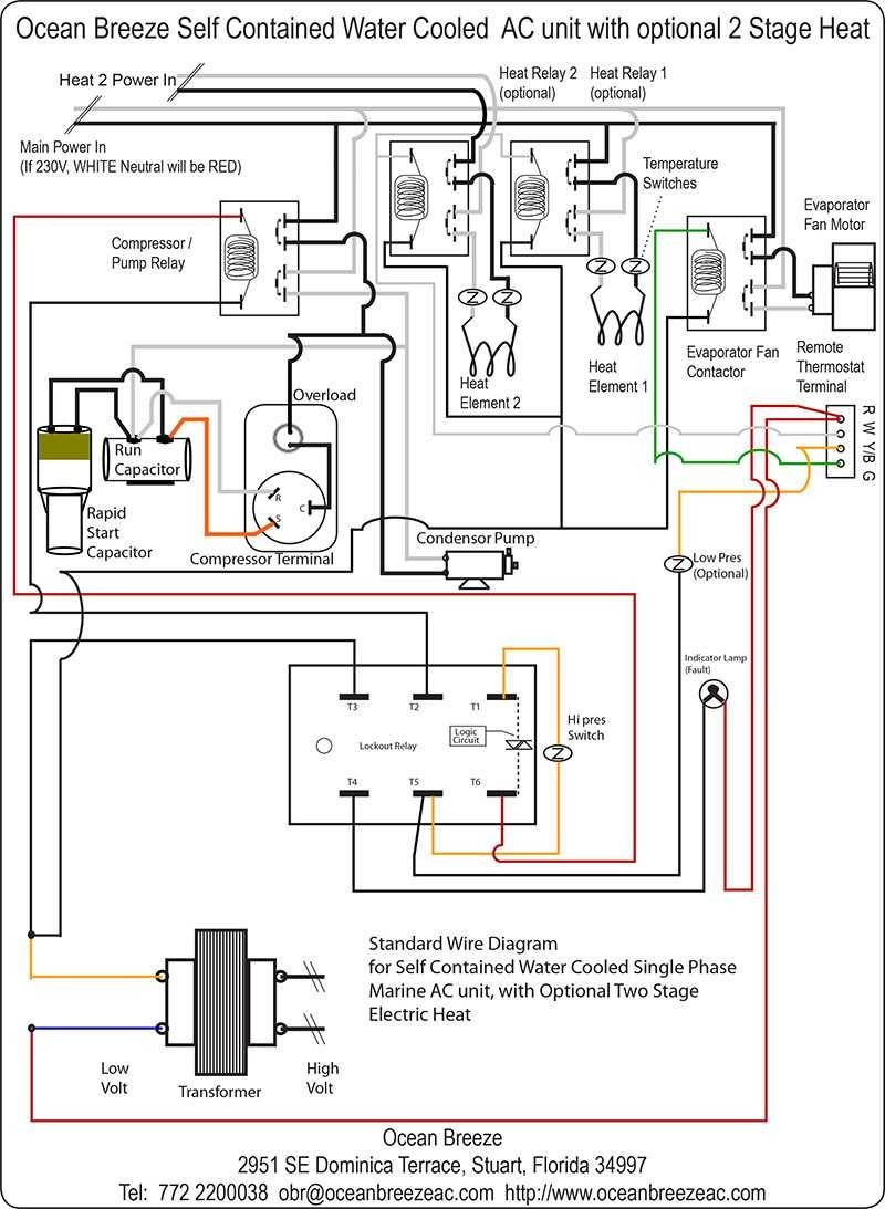 Coleman A C Wiring Diagrams | Wiring Schematic Diagram on