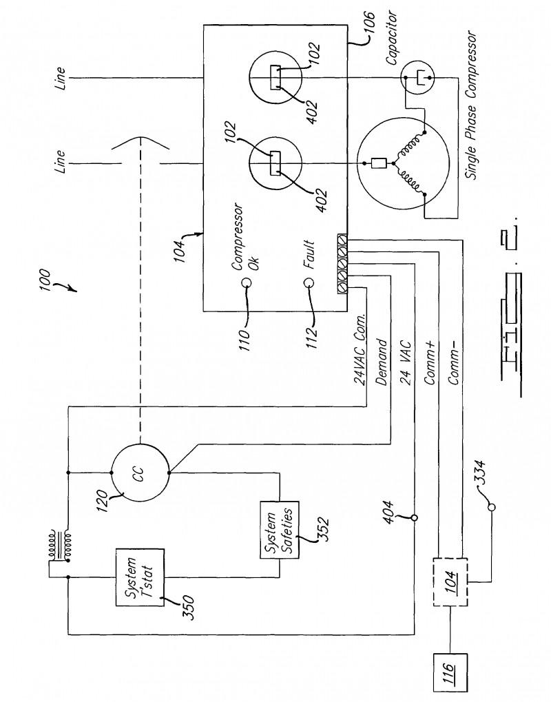 Enchanting Refrigeration Pressor Wiring Diagram Pressor Wiring Diagram Single Phase
