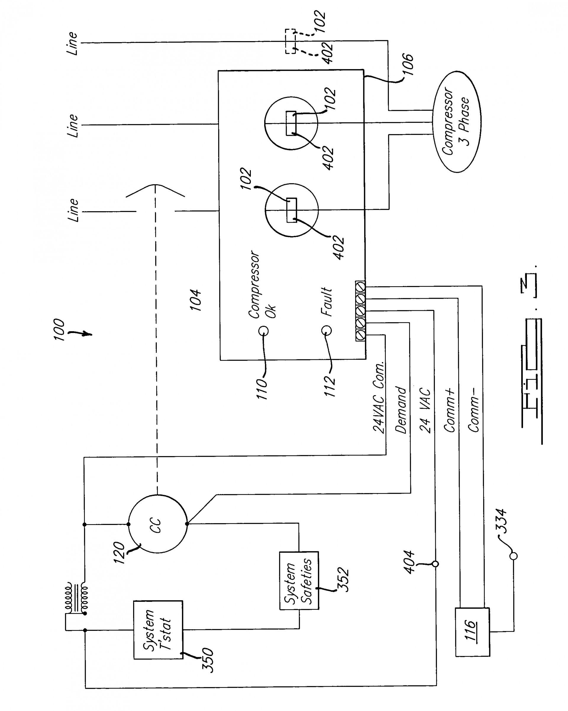 pressor Wiring Diagram Single Phase Lovely Copeland Pressor For