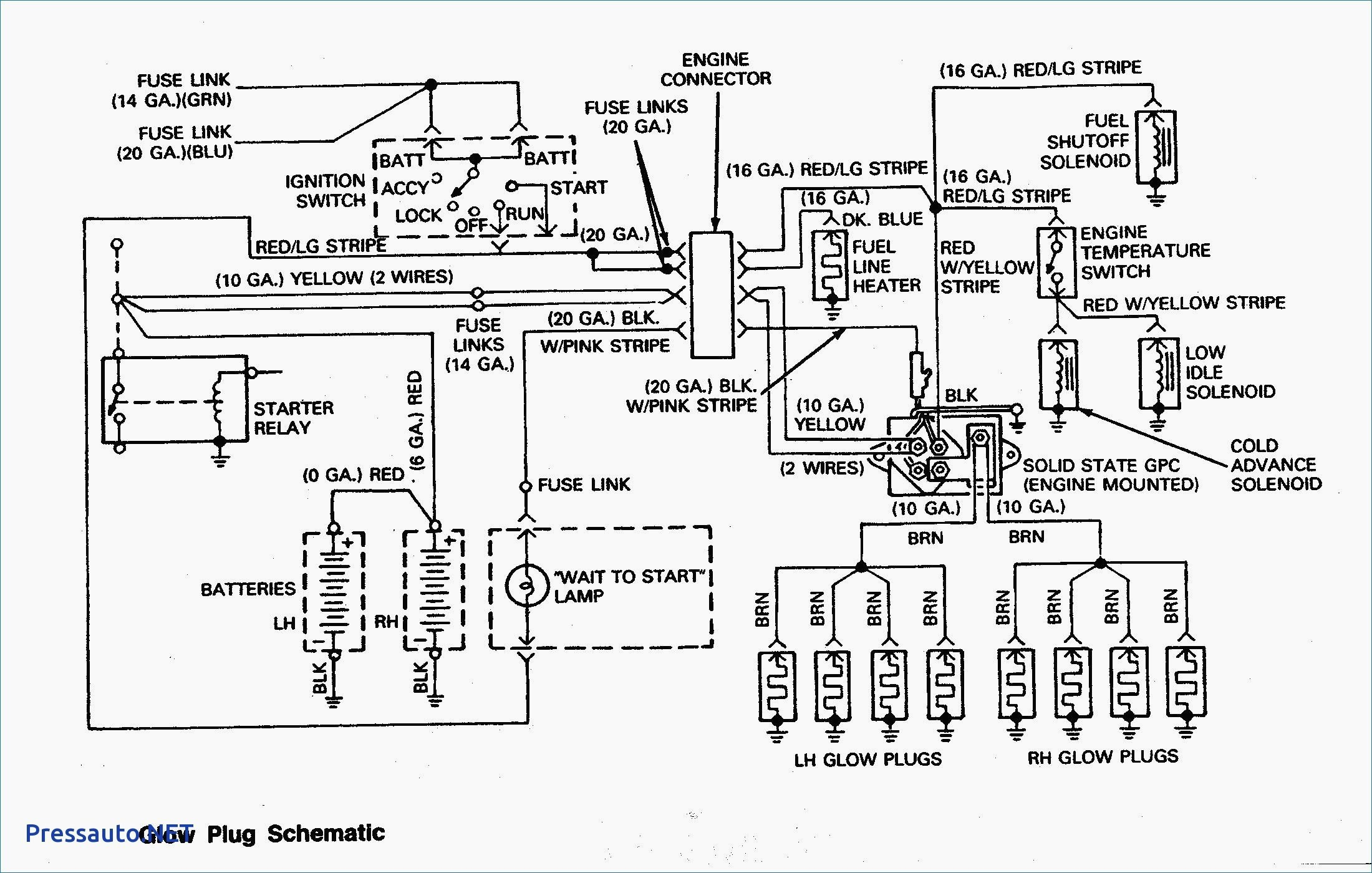 Cucv Wiring Diagram Alternator Oldsmobile Glow Plug Elegant