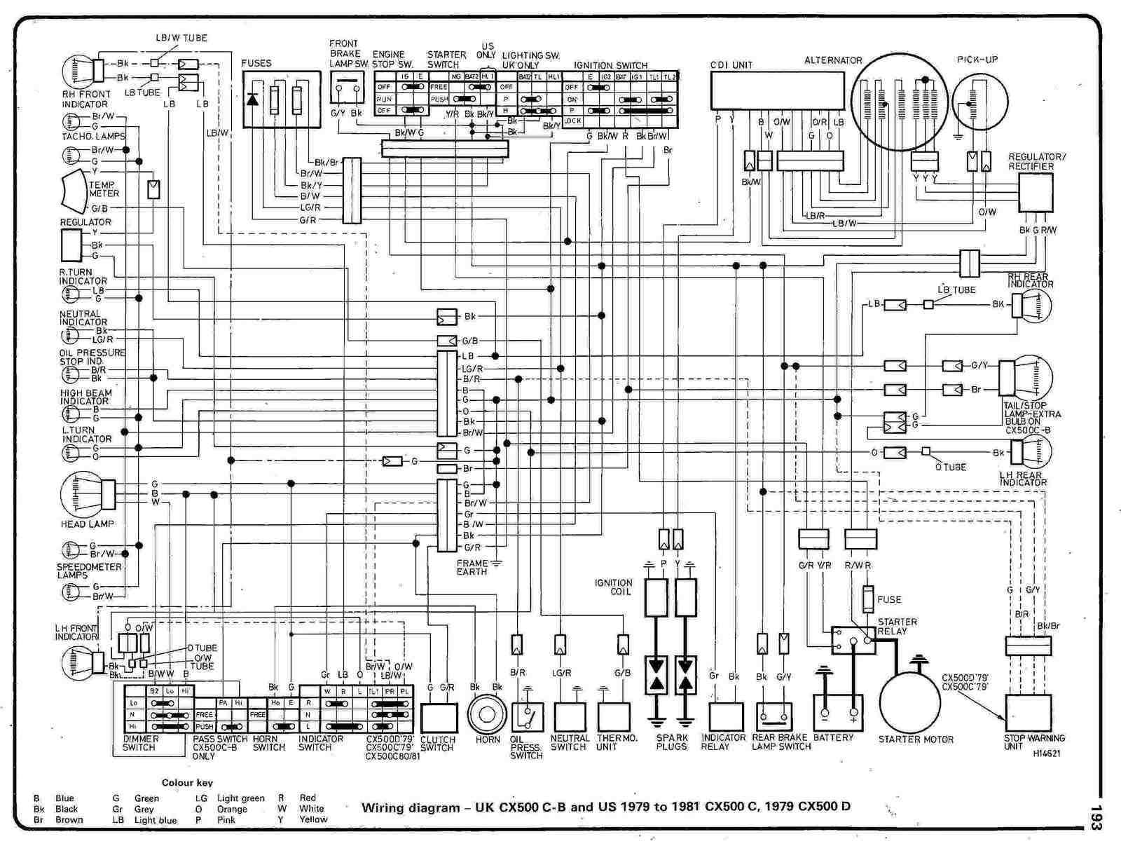 Wiring Diagram 1981 Prelude Page 3 And Schematics 1993 Honda Goldwing 1976 Gl1000 Trusted Schematic Diagrams U2022 Rh Sarome Co Rebel