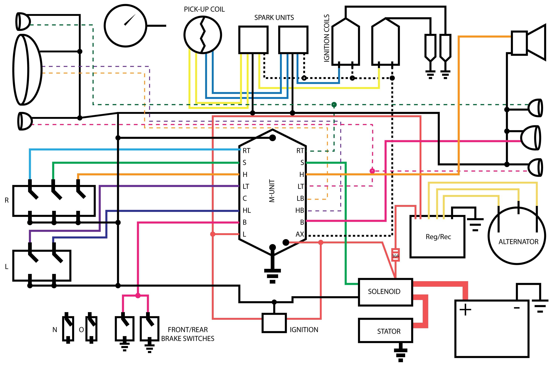 1981 Honda Cm400 Wiring Diagram Schematics Cm 400t Cx500 Detailed Parts