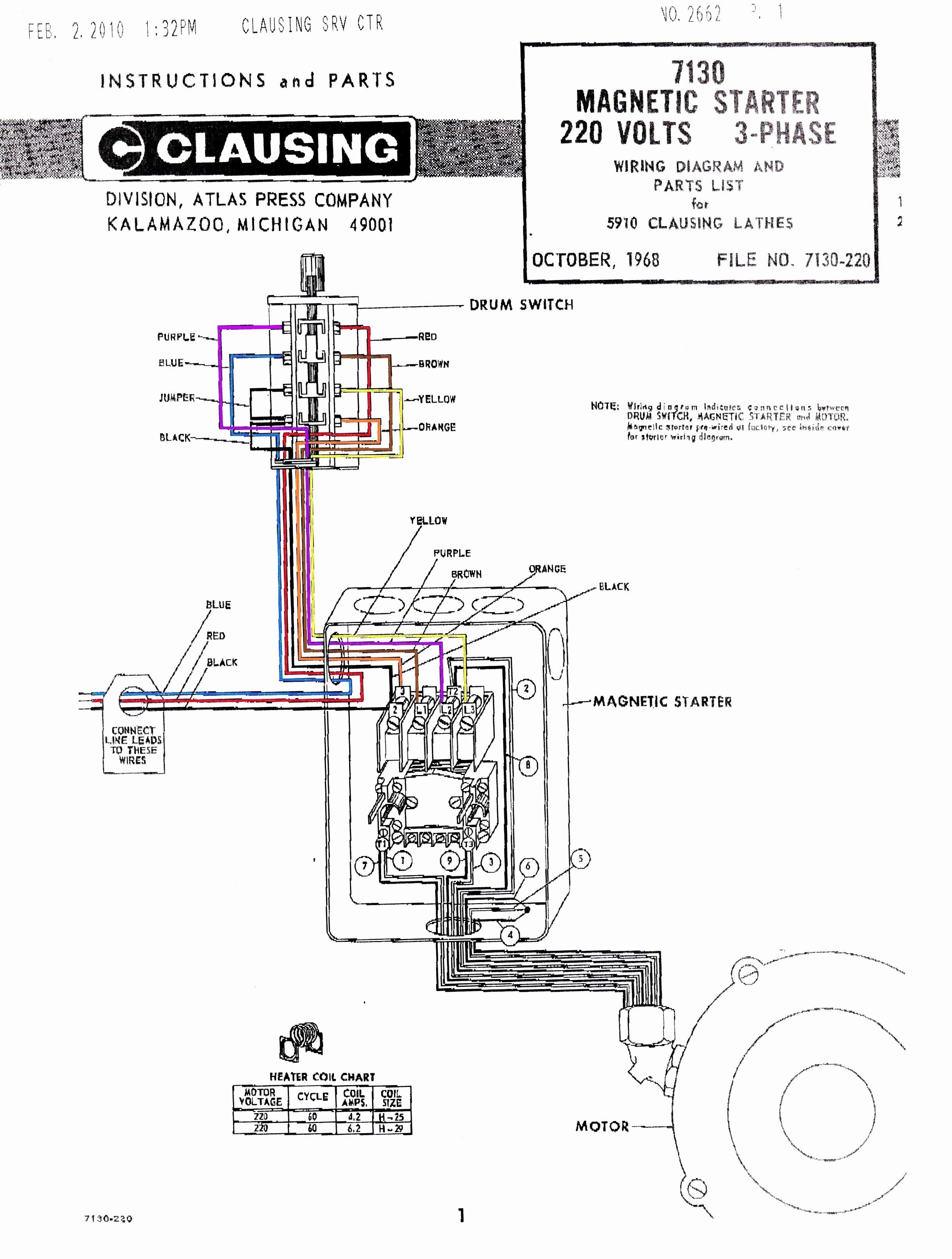 Ac Motor Starter Wiring Diagram Refrence Wiring Diagram Ac 3 Phase New Wiring Diagram Weg 3