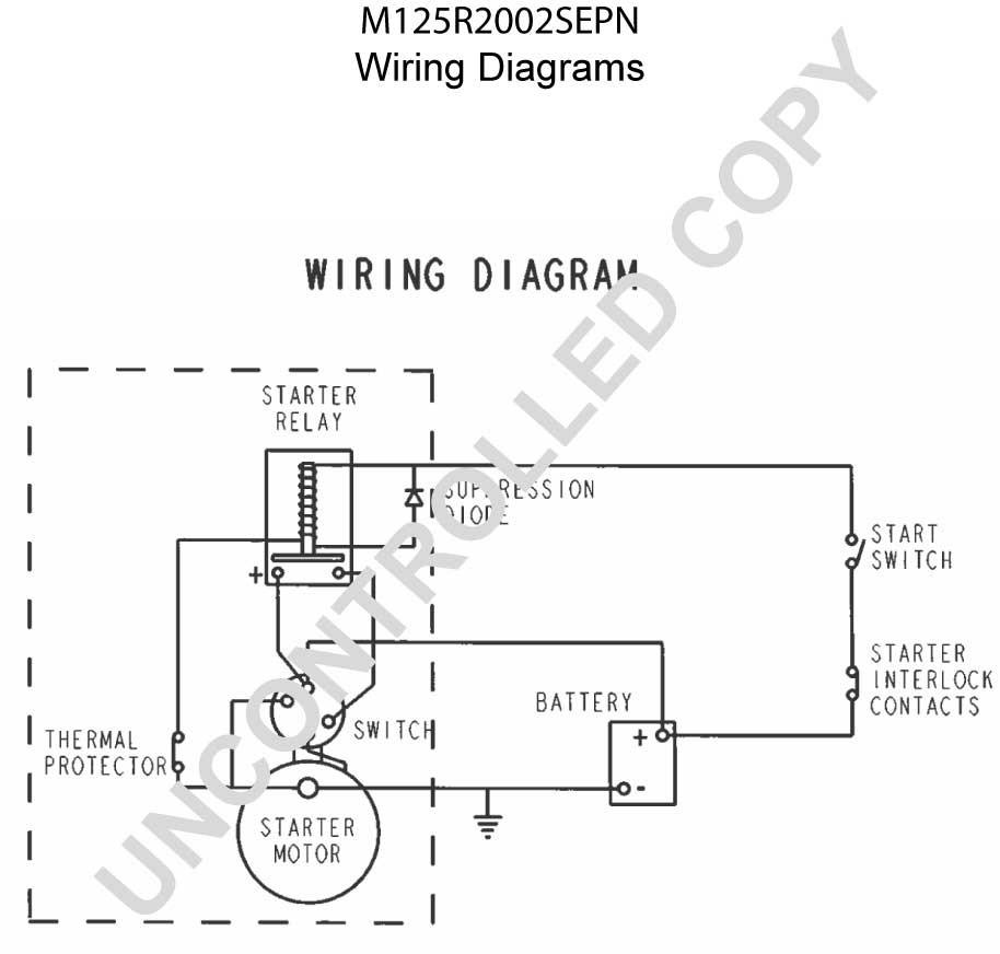 M125R2002SEPN Wiring Diagram