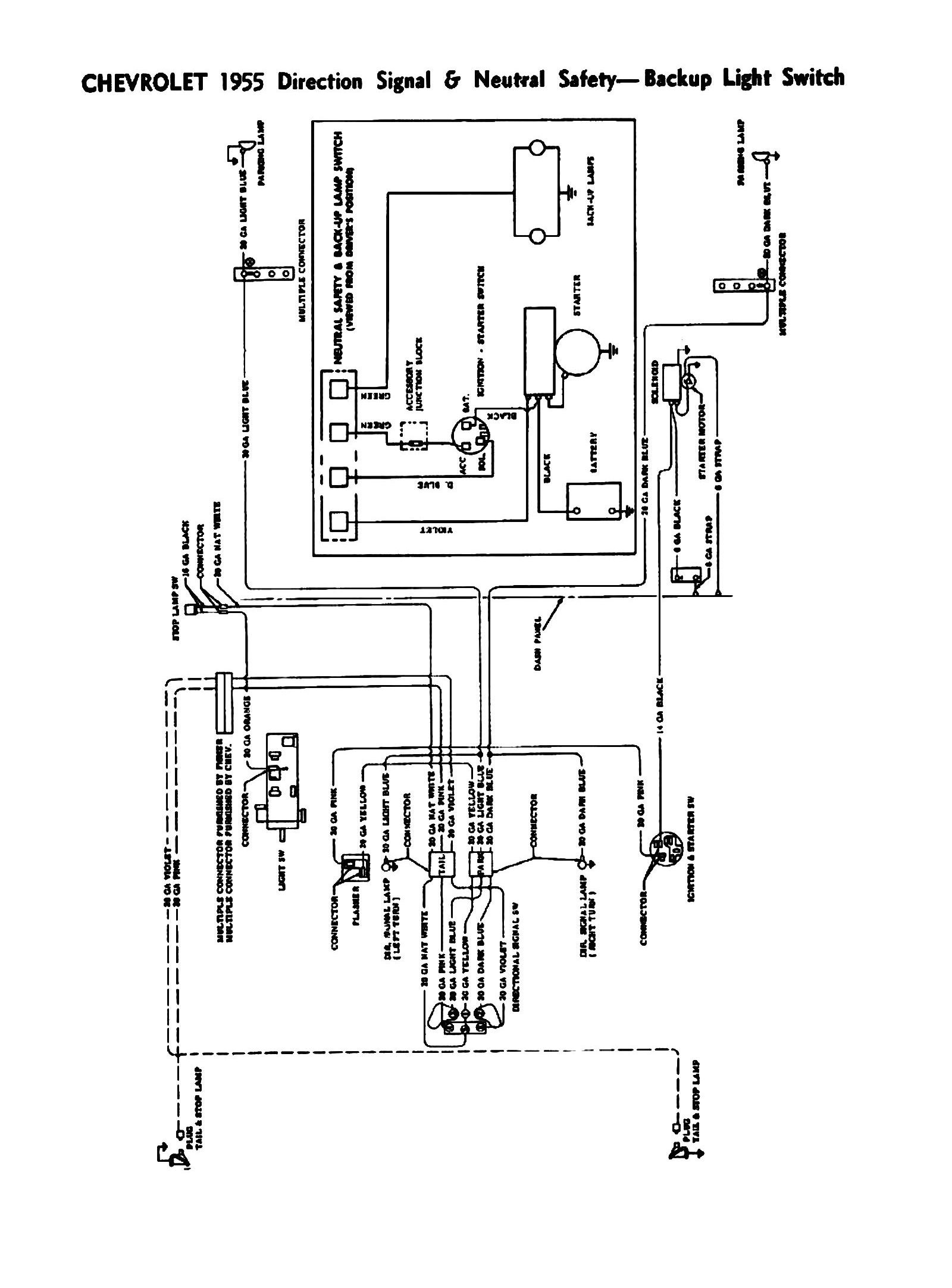 55 Ford Wiring Diagram Detailed Diagrams 1959 Ranch Wagon Ignition Switch Image F 350