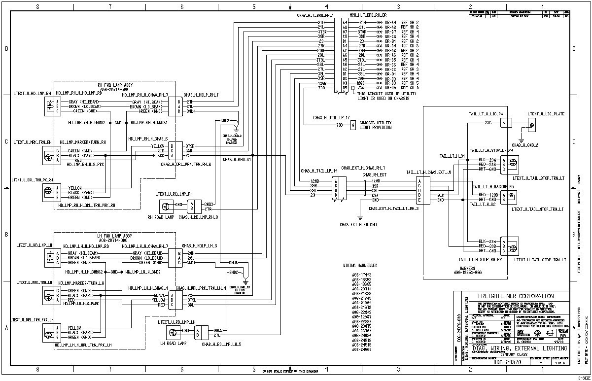 06 Freightliner M2 Wiring Diagram - Wiring Diagram K8 on