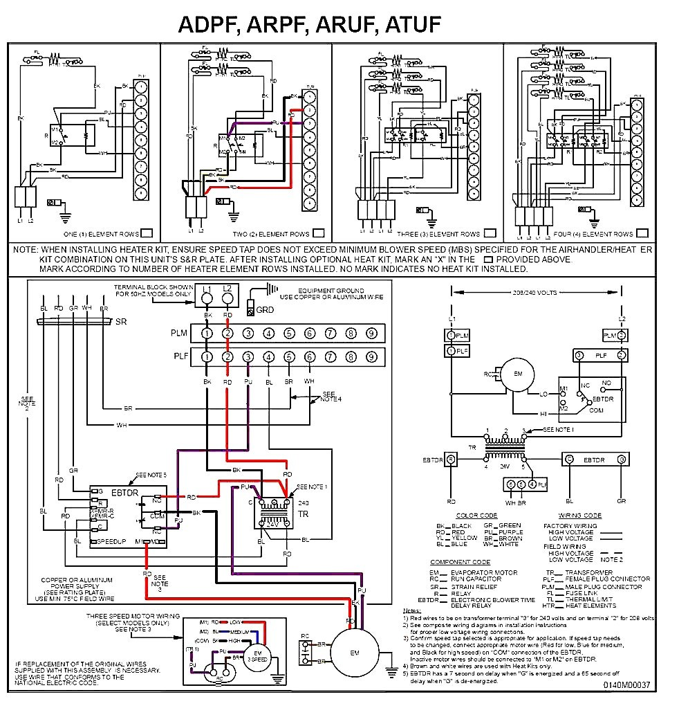 Ac Capacitor Wiring Diagram 4 Wire
