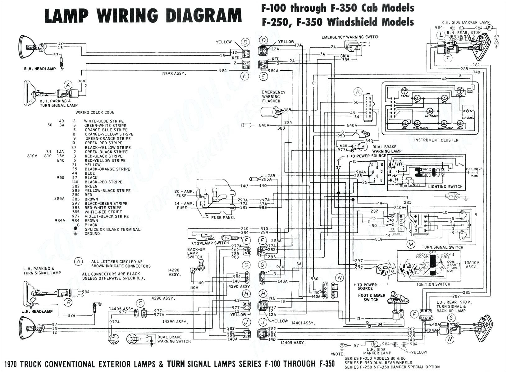 Wiring Diagram for Universal Turn Signal Switch Valid Wiring Diagrams for Turn  Signal Best Stop Turn