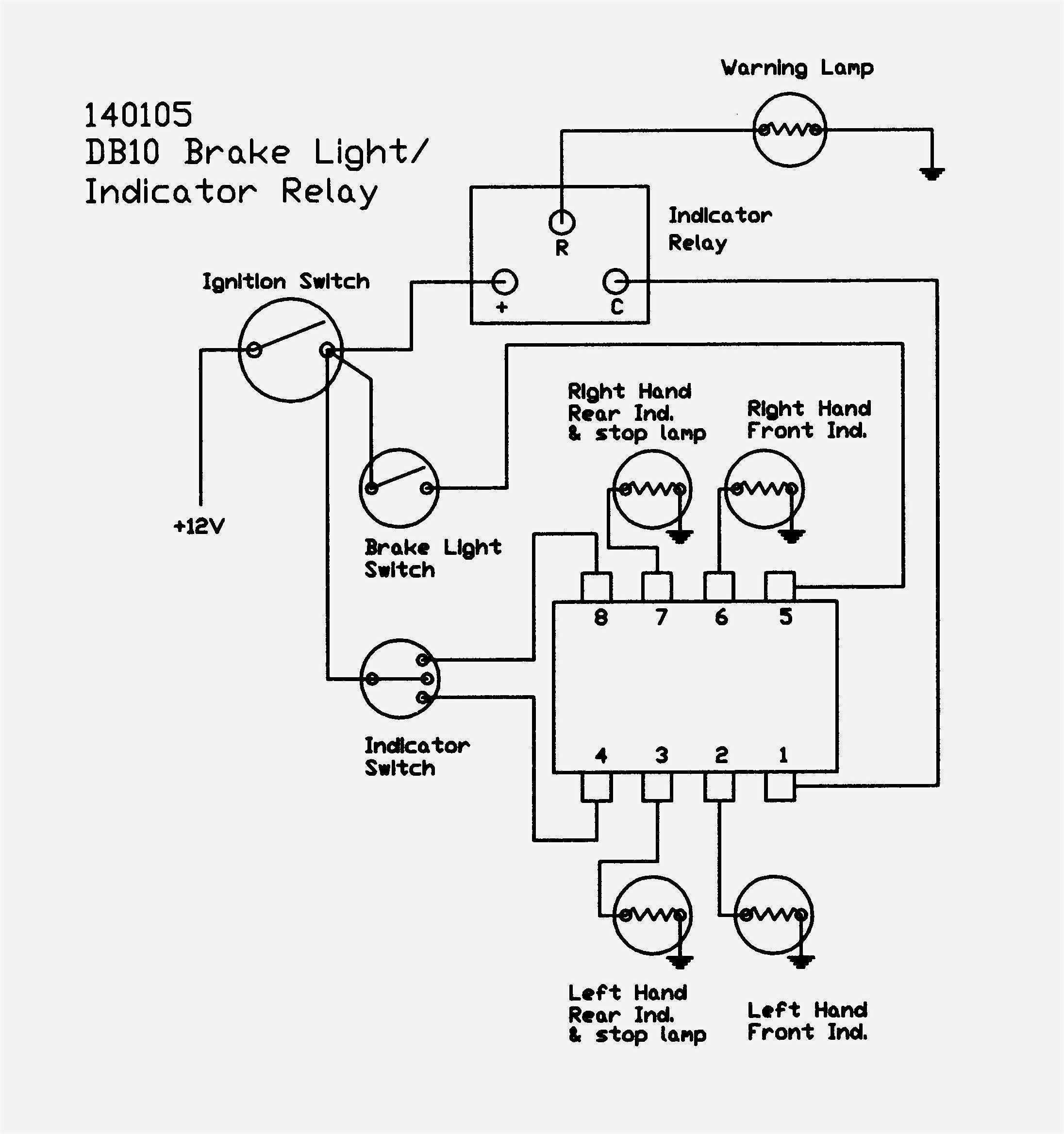 Indicator Wiring Diagram Relay Refrence 4 Way Switch