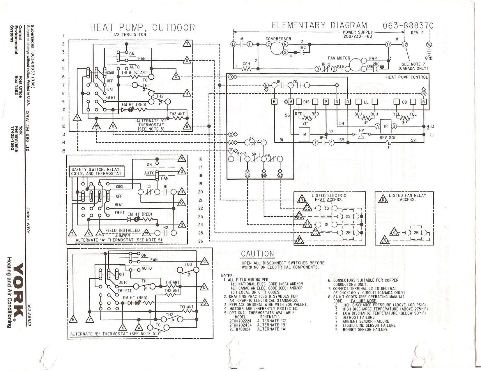 Heat Pump Wiring Diagram Schematic Wiring Diagram Image - Omron g7l 2a tubj  cb wiring diagram