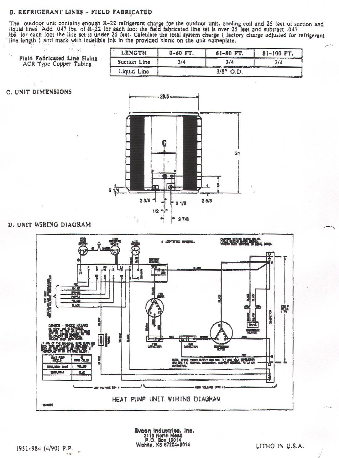 york heat pump thermostat wiring diagram Download York Heat Pump Wiring Diagram 12 a DOWNLOAD Wiring Diagram